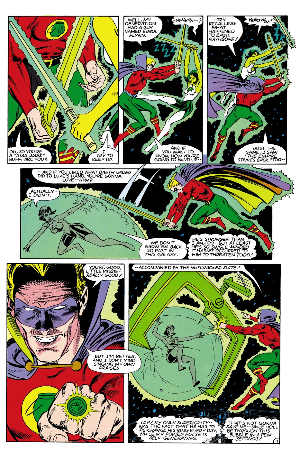 Infinity Inc. (1984) issue 9 - Page 11