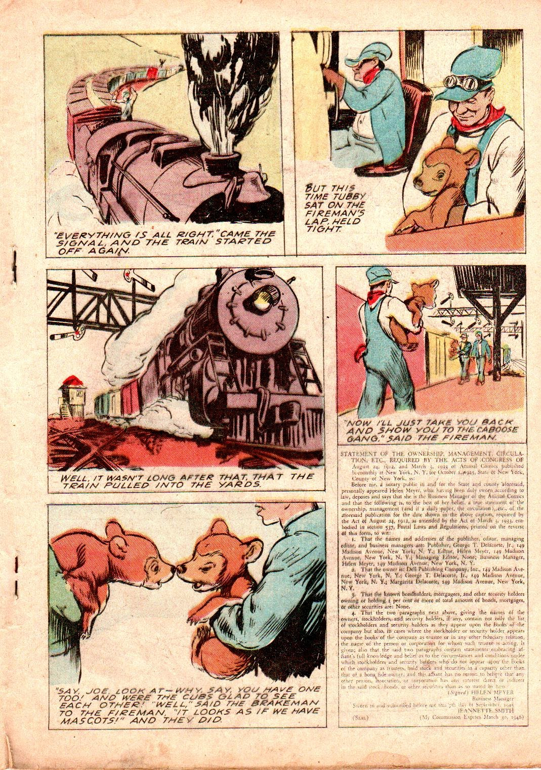 Read online Animal Comics comic -  Issue #19 - 25