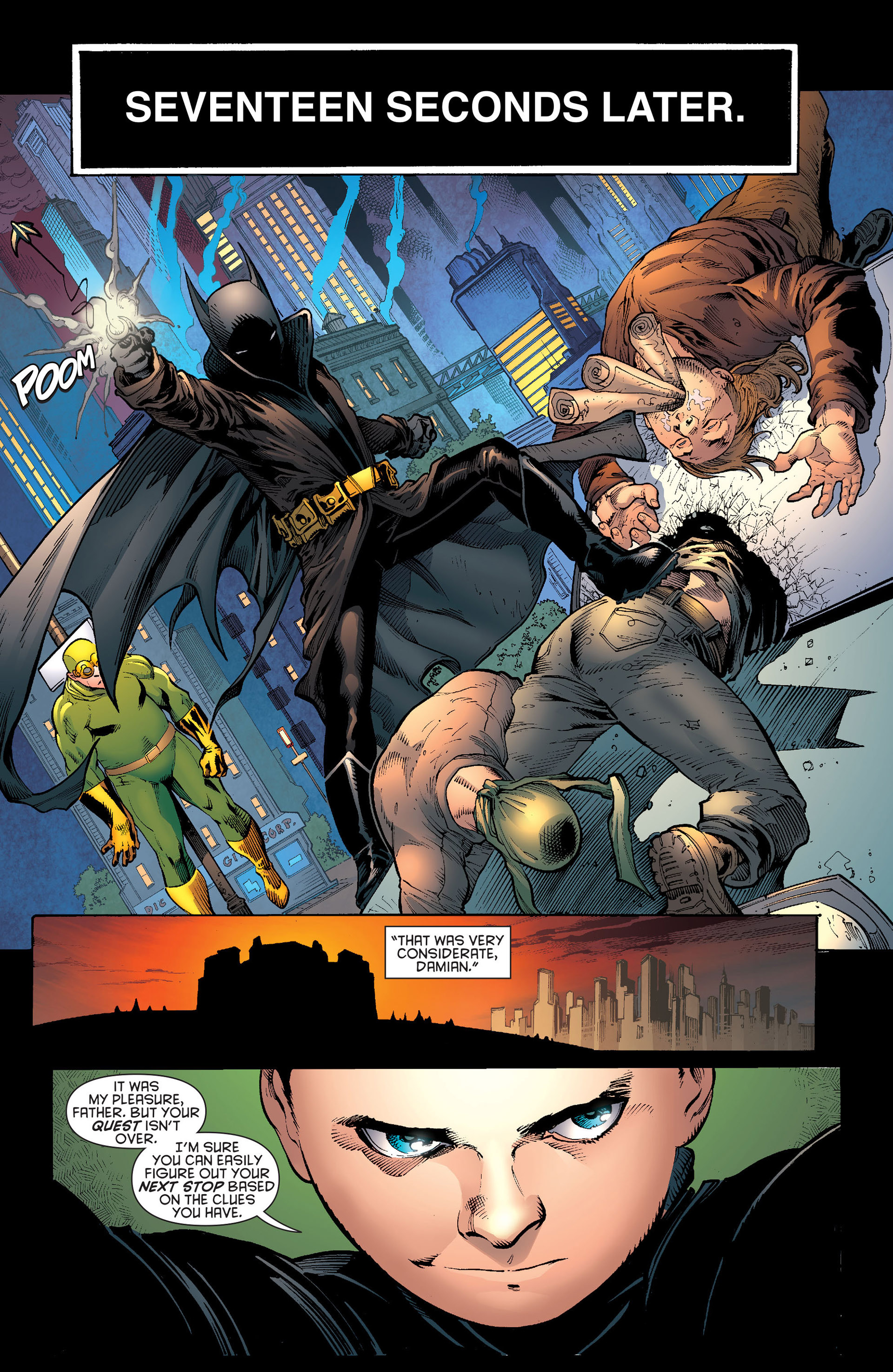 Read online Batman and Robin (2011) comic -  Issue # Annual 1 - 16