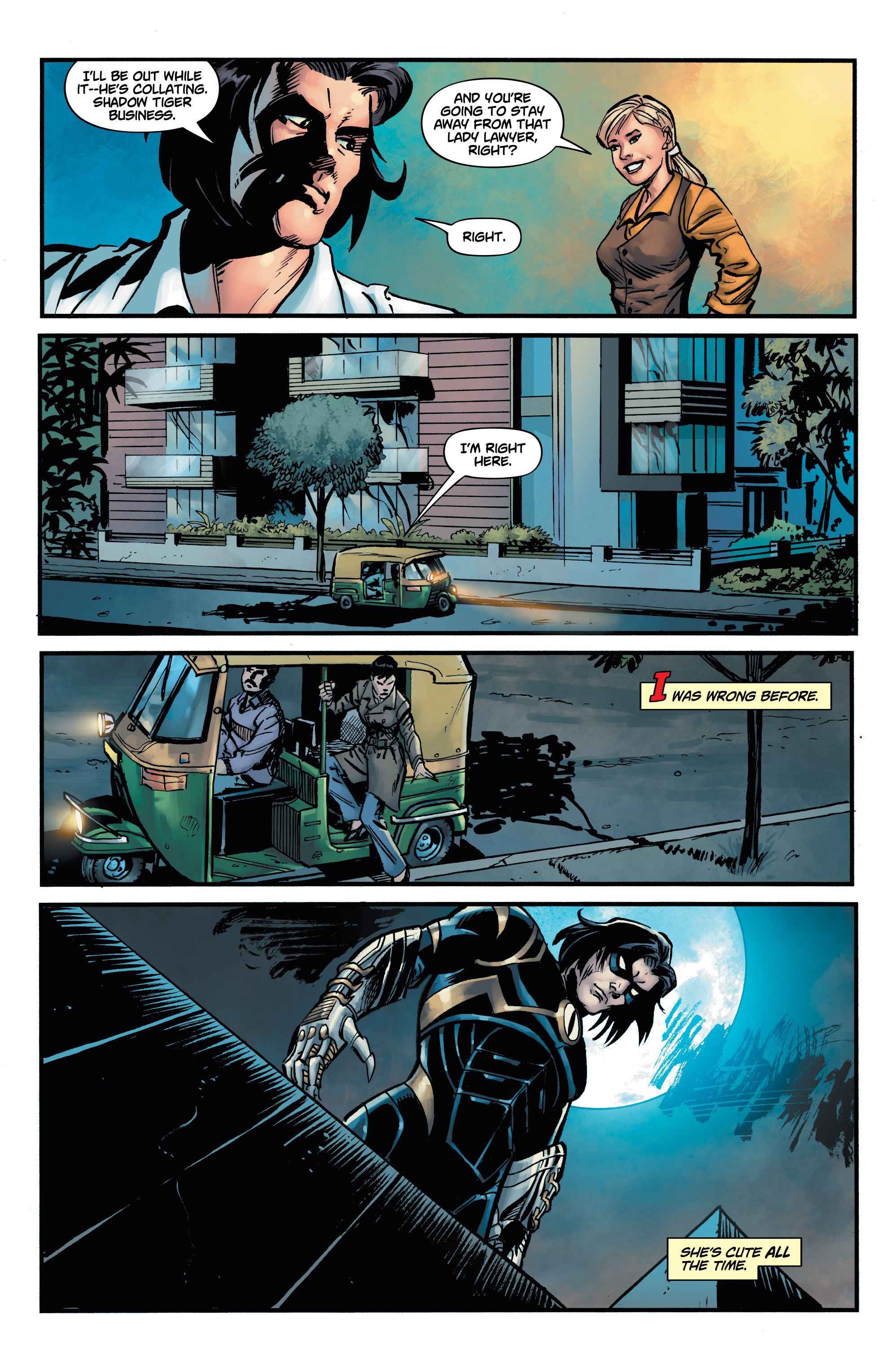 Read online Shadow Tiger comic -  Issue #2 - 16