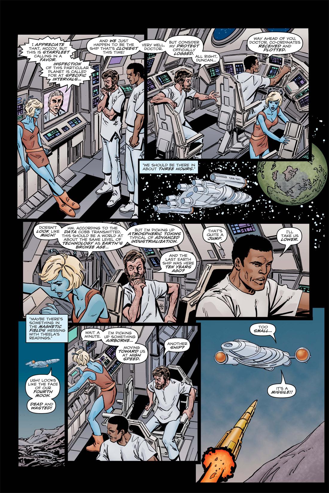 Read online Star Trek: Leonard McCoy, Frontier Doctor comic -  Issue #3 - 9