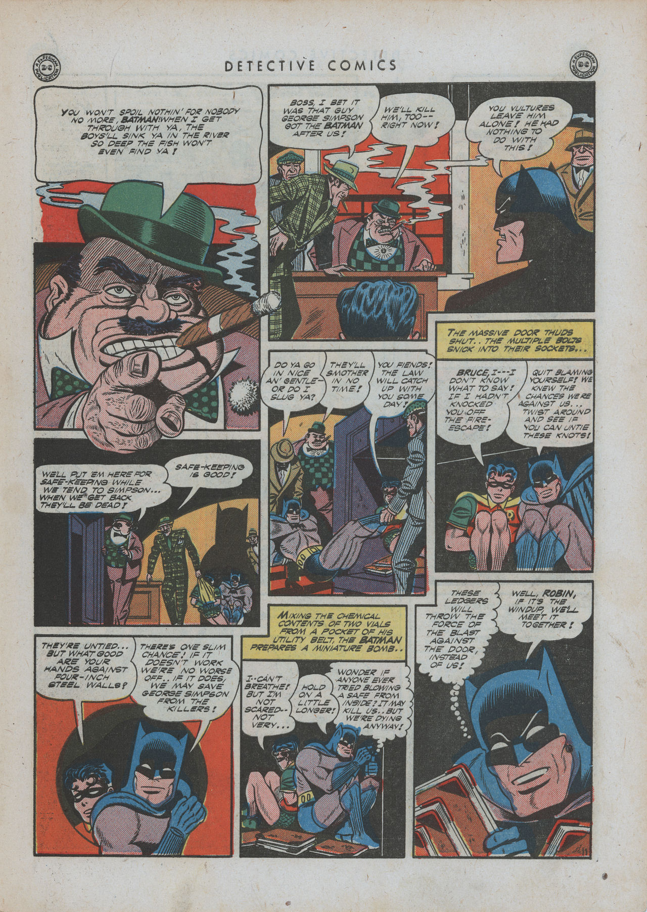 Read online Detective Comics (1937) comic -  Issue #88 - 13