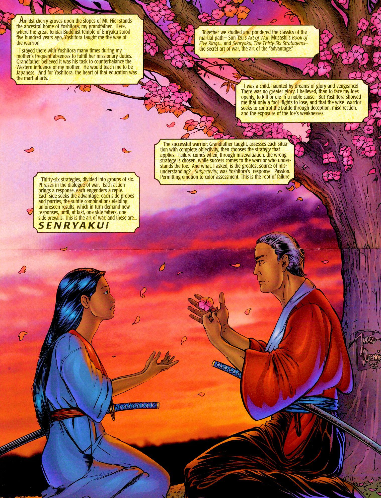 Read online Shi: Senryaku comic -  Issue #1 - 5