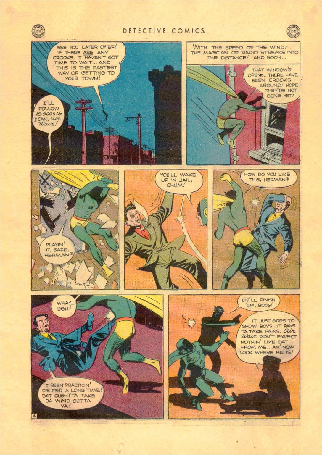 Read online Detective Comics (1937) comic -  Issue #92 - 20