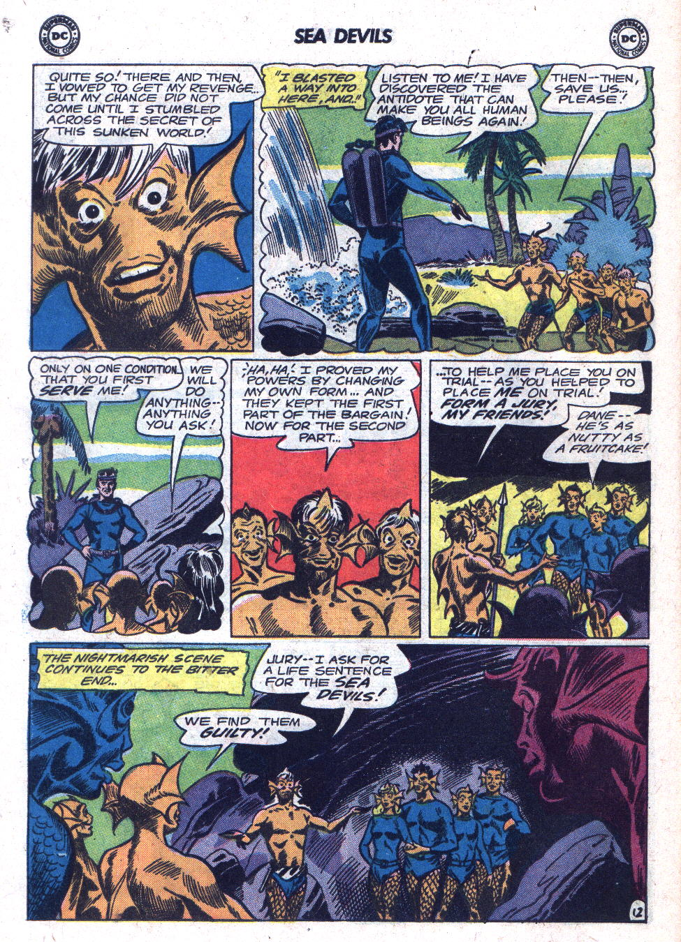 Read online Sea Devils comic -  Issue #18 - 16