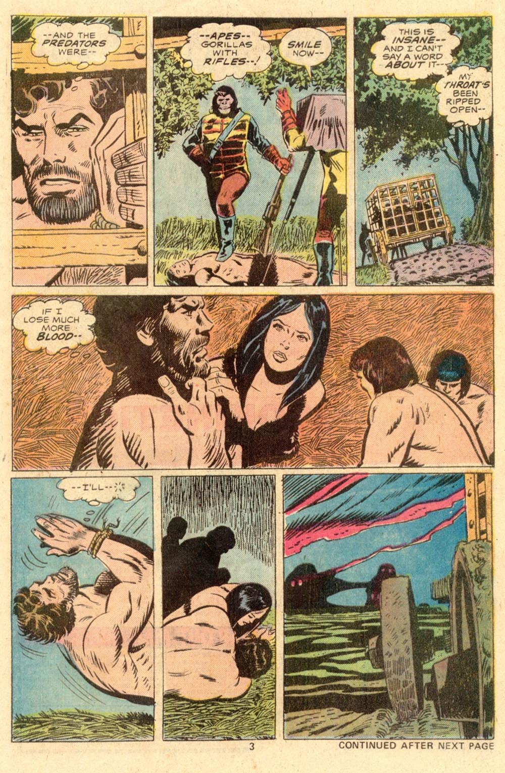 Read online Adventures on the Planet of the Apes comic -  Issue #2 - 4
