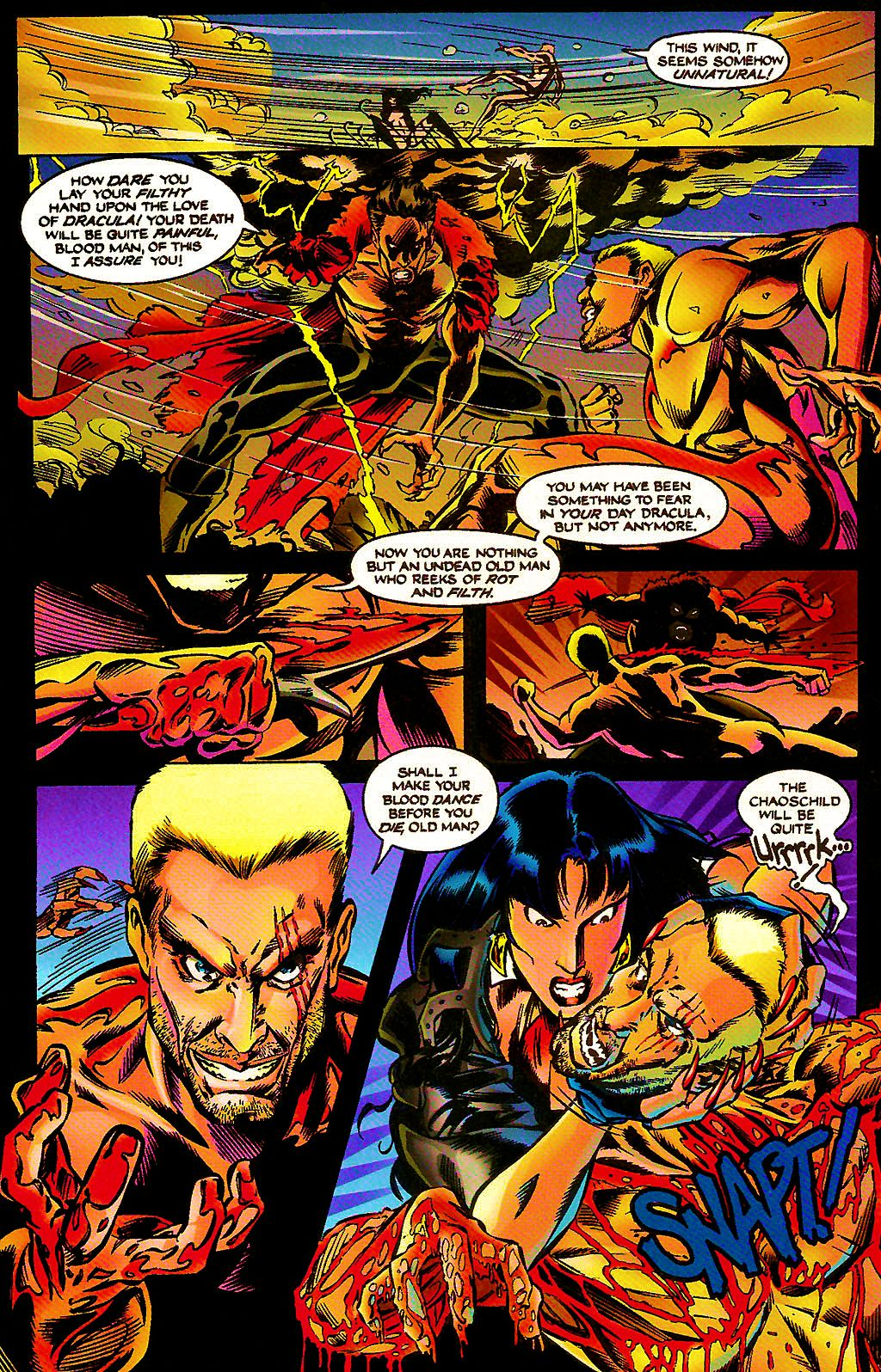 Read online Chains of Chaos comic -  Issue #3 - 17