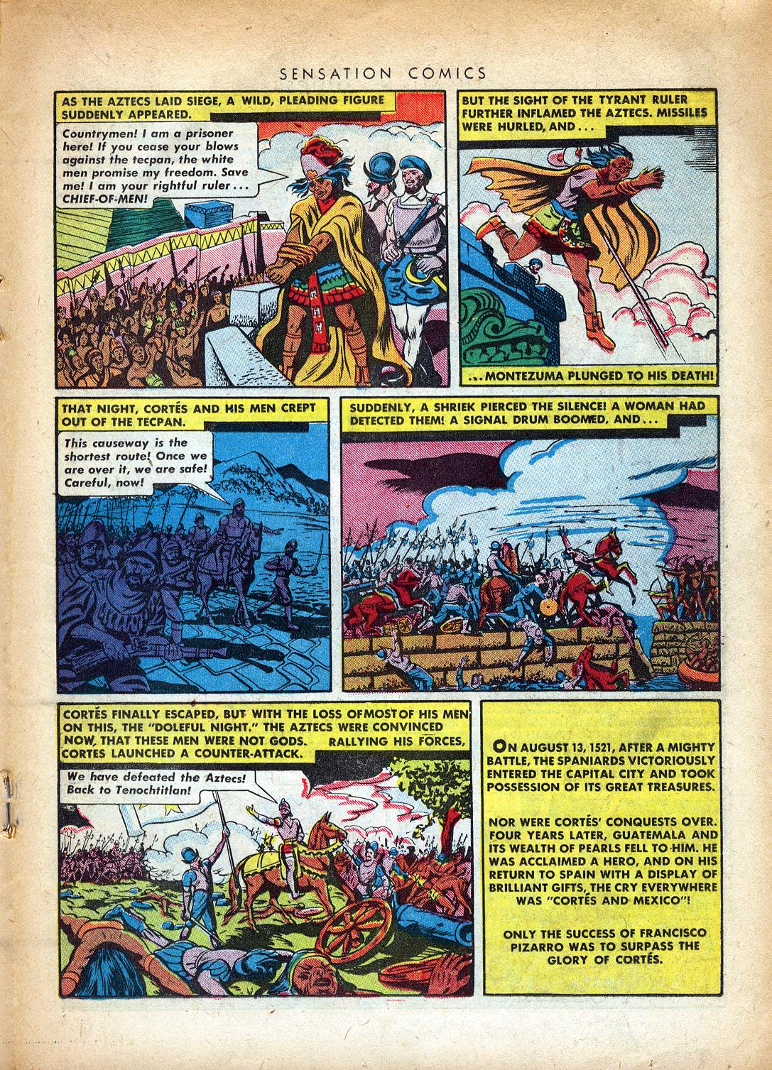 Read online Sensation (Mystery) Comics comic -  Issue #37 - 27