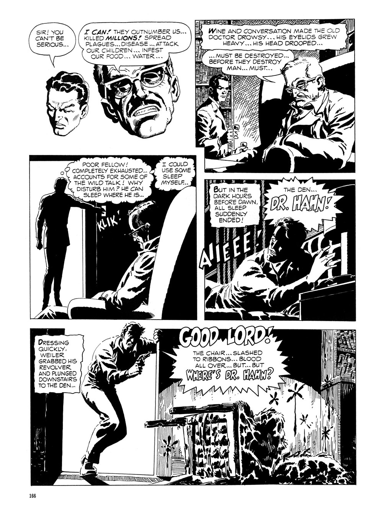 Read online Eerie Archives comic -  Issue # TPB 1 - 167