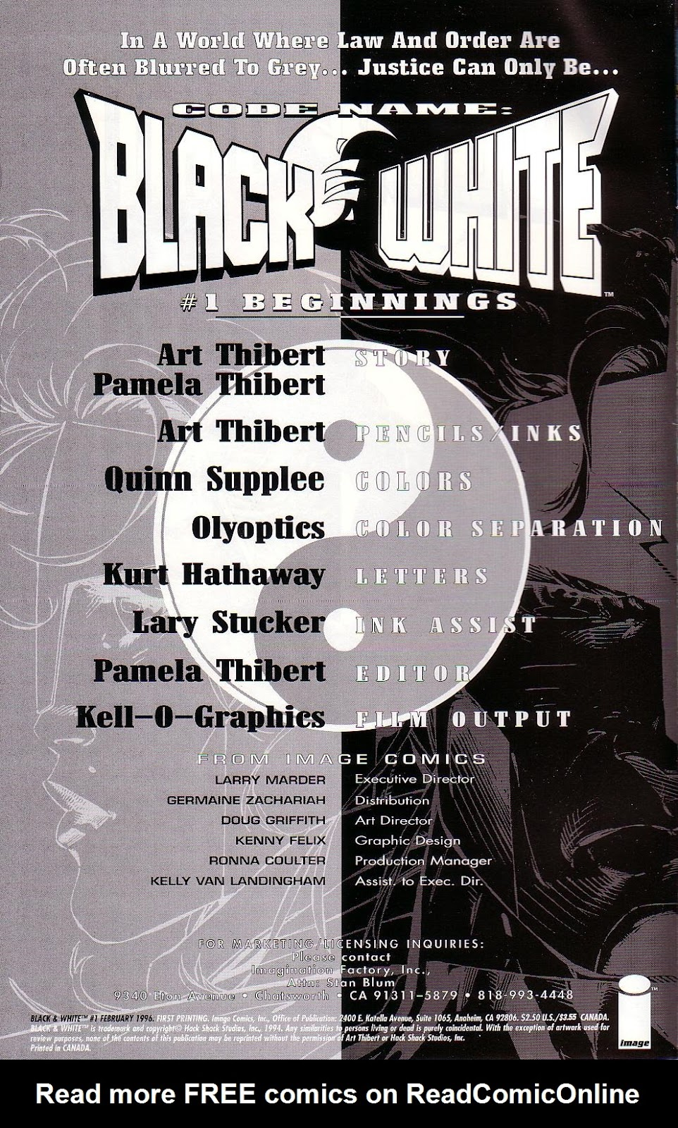Read online Black & White (1996) comic -  Issue # Full - 2