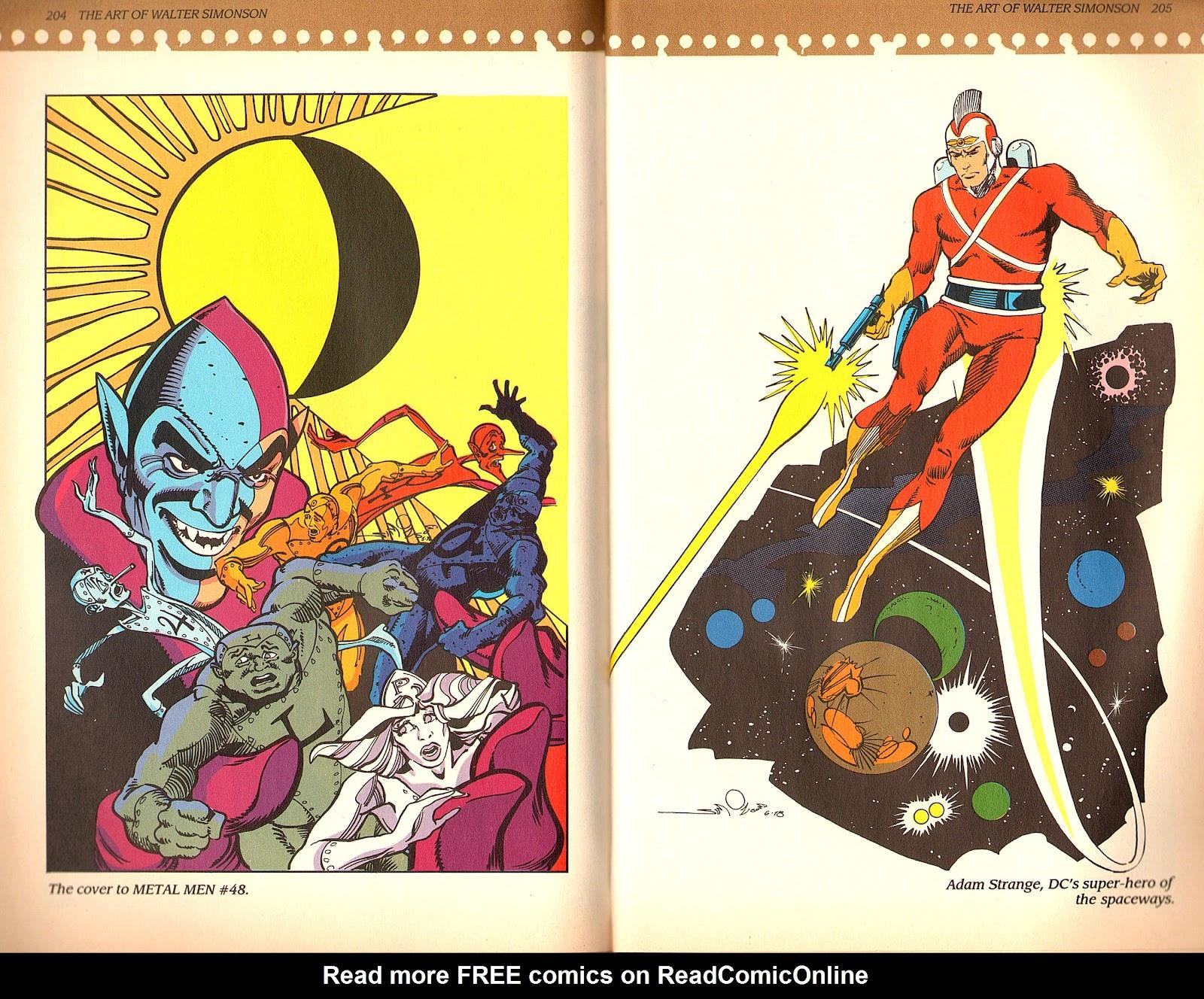 Read online The Art of Walter Simonson comic -  Issue # TPB - 104