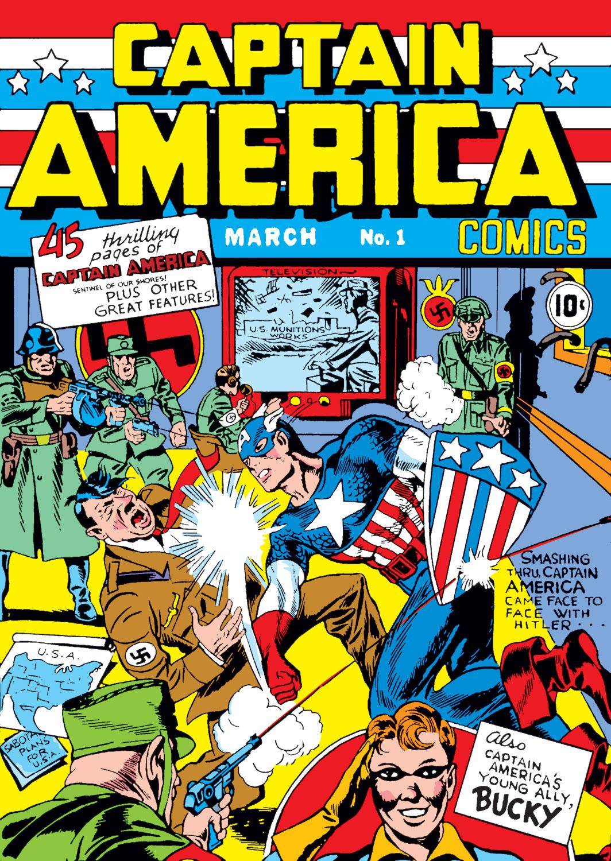 Captain America Comics 1 Page 1