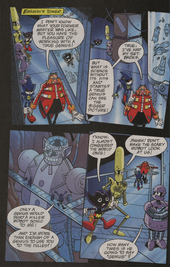 Read online Sonic X comic -  Issue #40 - 20