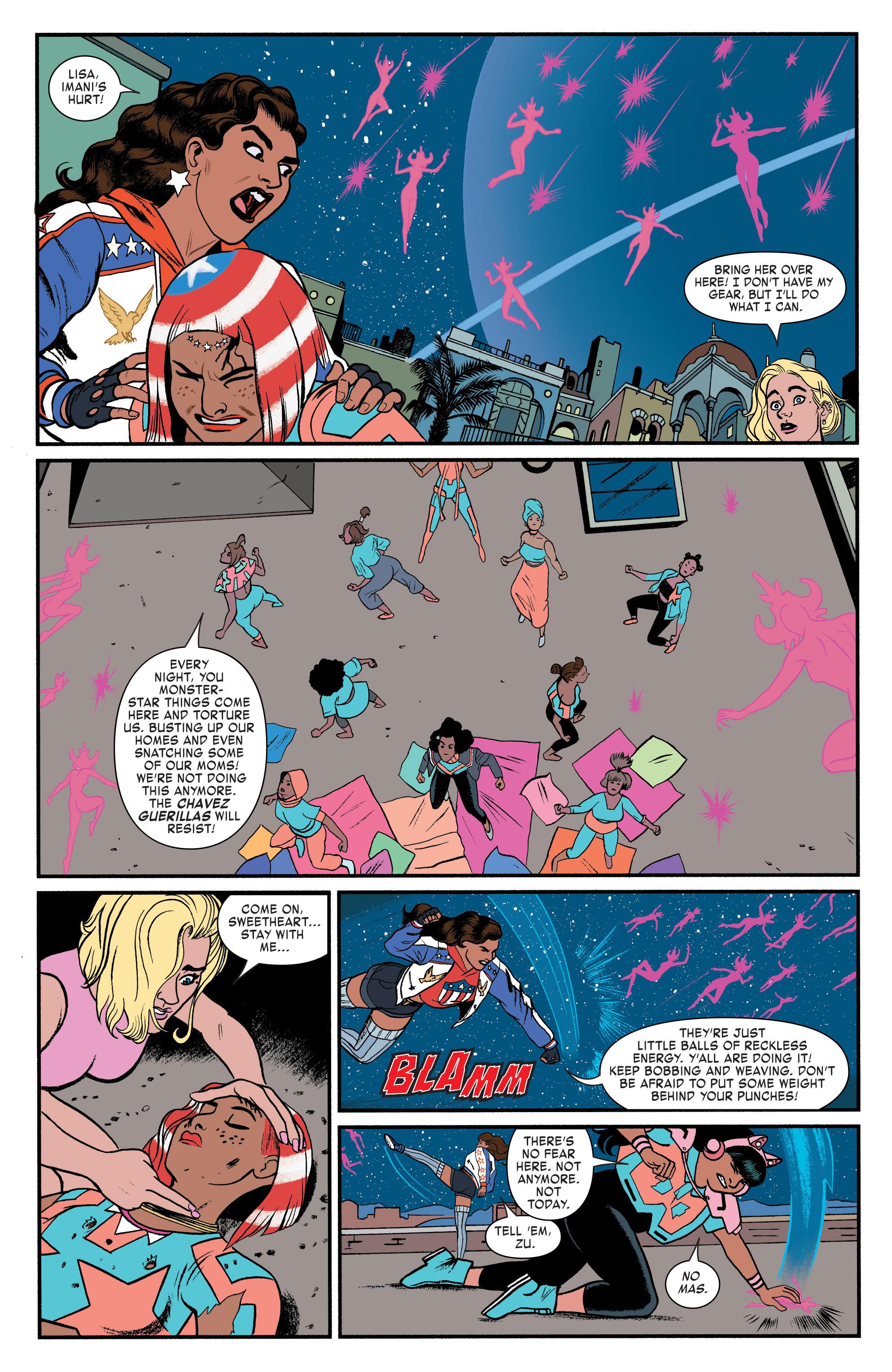 Read online America (2016) comic -  Issue #3 - 17