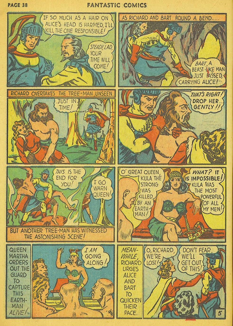 Read online Fantastic Comics comic -  Issue #15 - 31