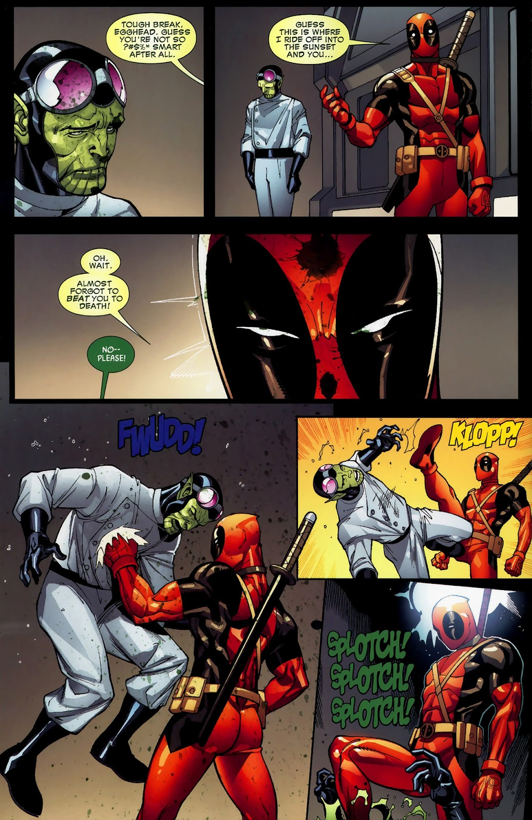 Read online Deadpool (2008) comic -  Issue #3 - 19