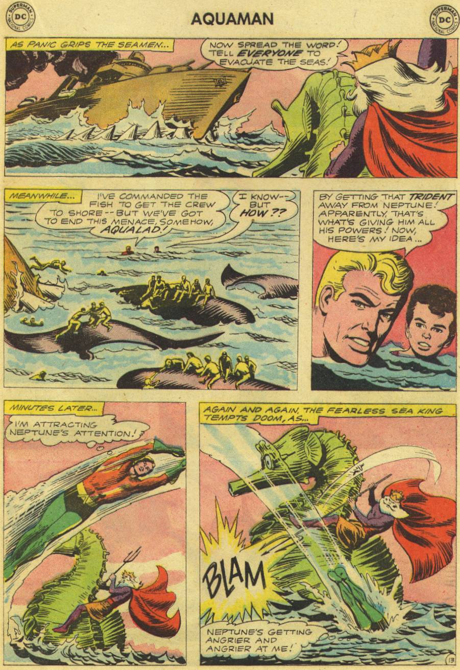 Read online Aquaman (1962) comic -  Issue #9 - 17
