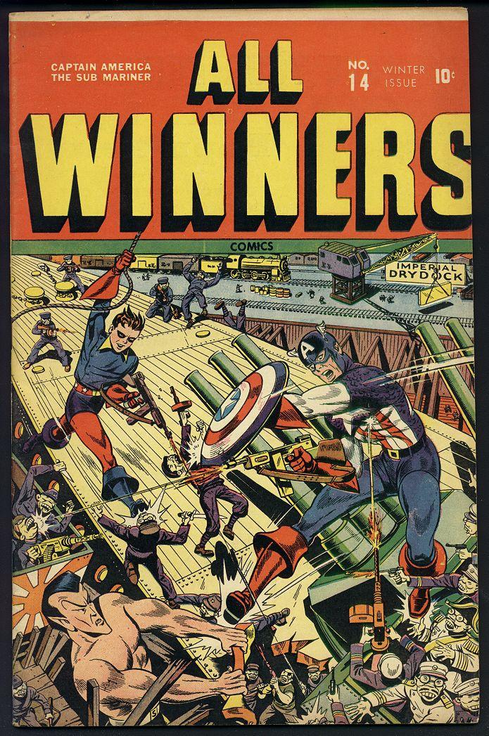 All-Winners Comics 14 Page 1