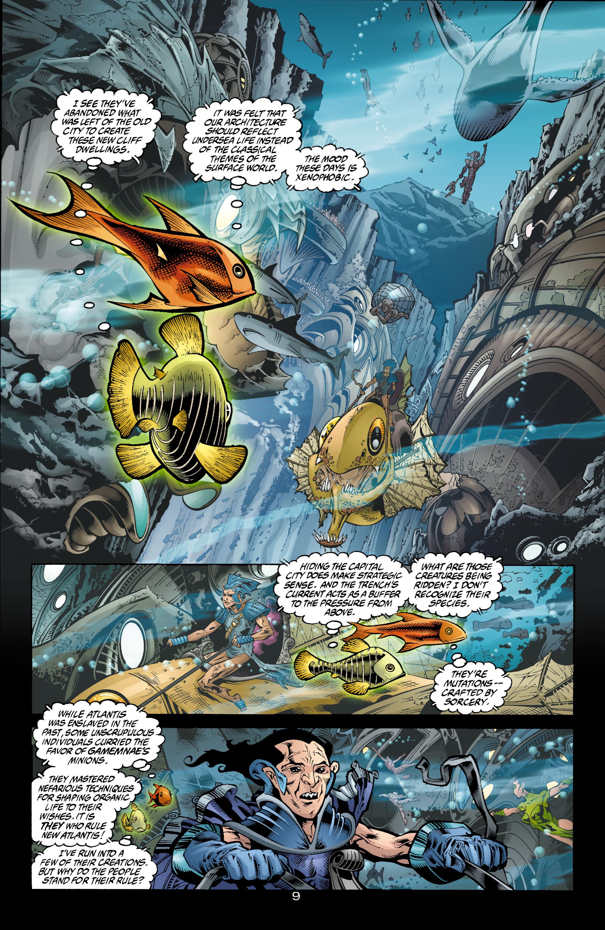 Read online Aquaman (2003) comic -  Issue #4 - 10