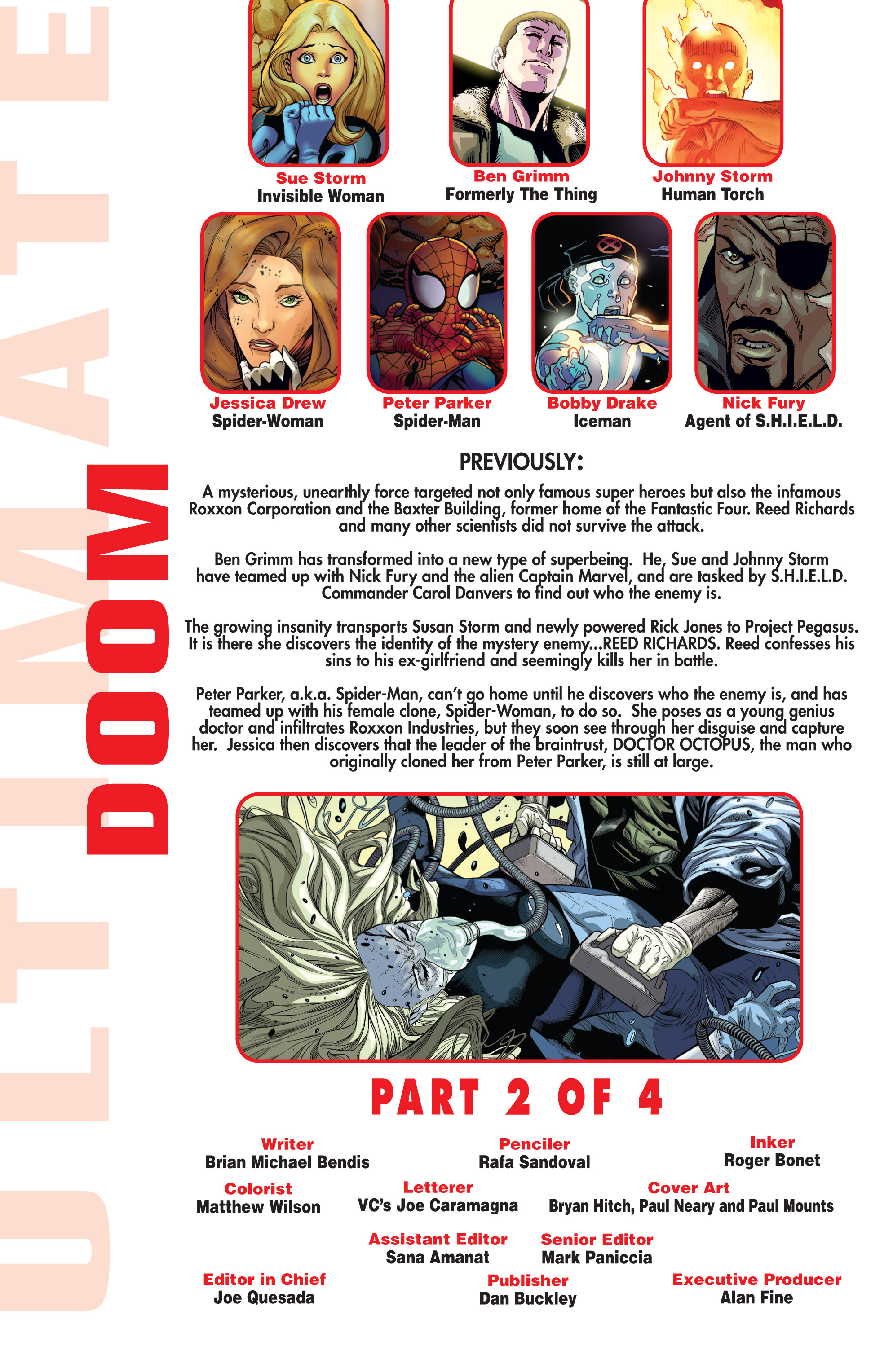 Read online Ultimate Comics Doomsday comic -  Issue # Full - 185