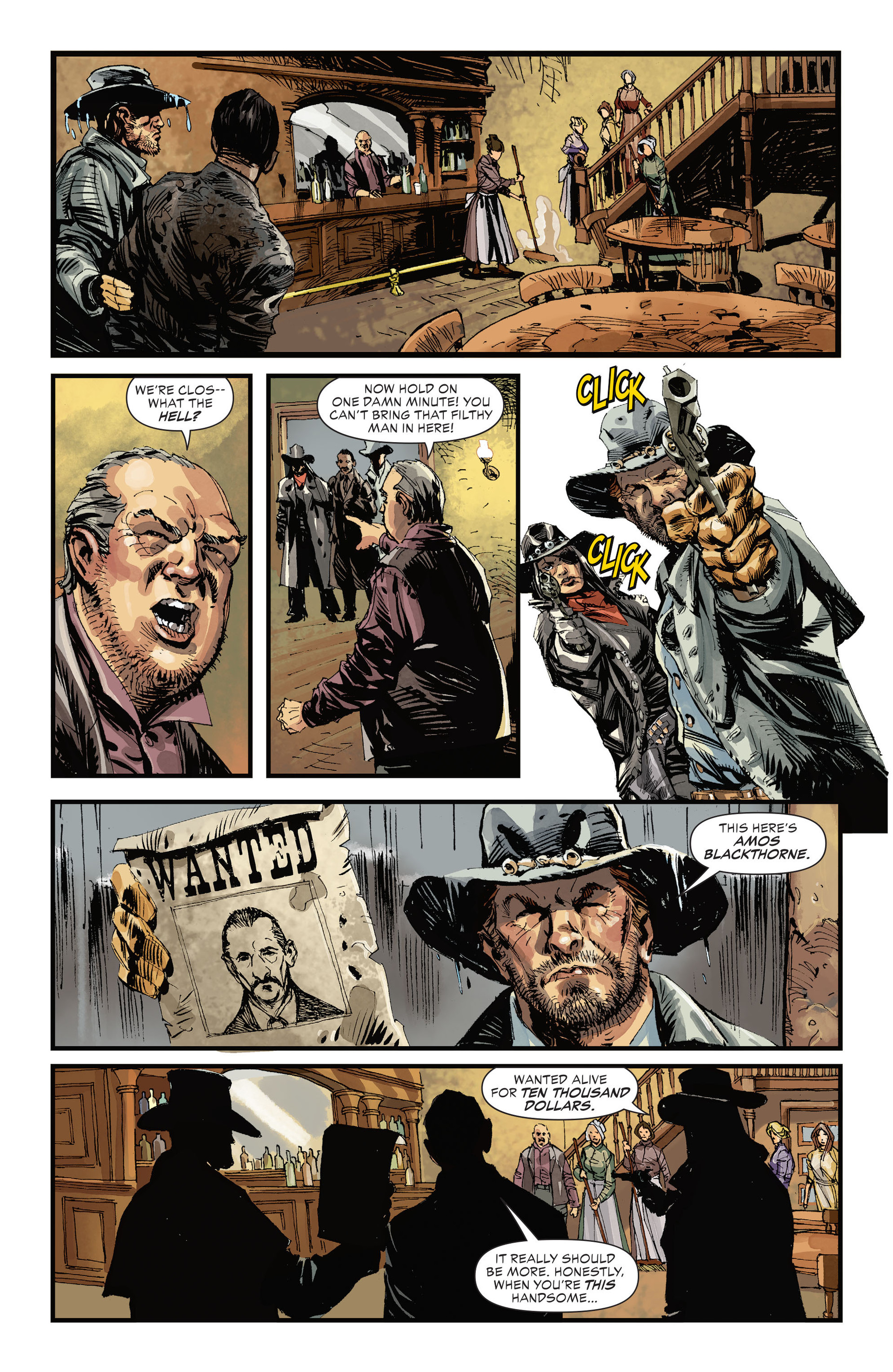 Read online All-Star Western (2011) comic -  Issue #32 - 5