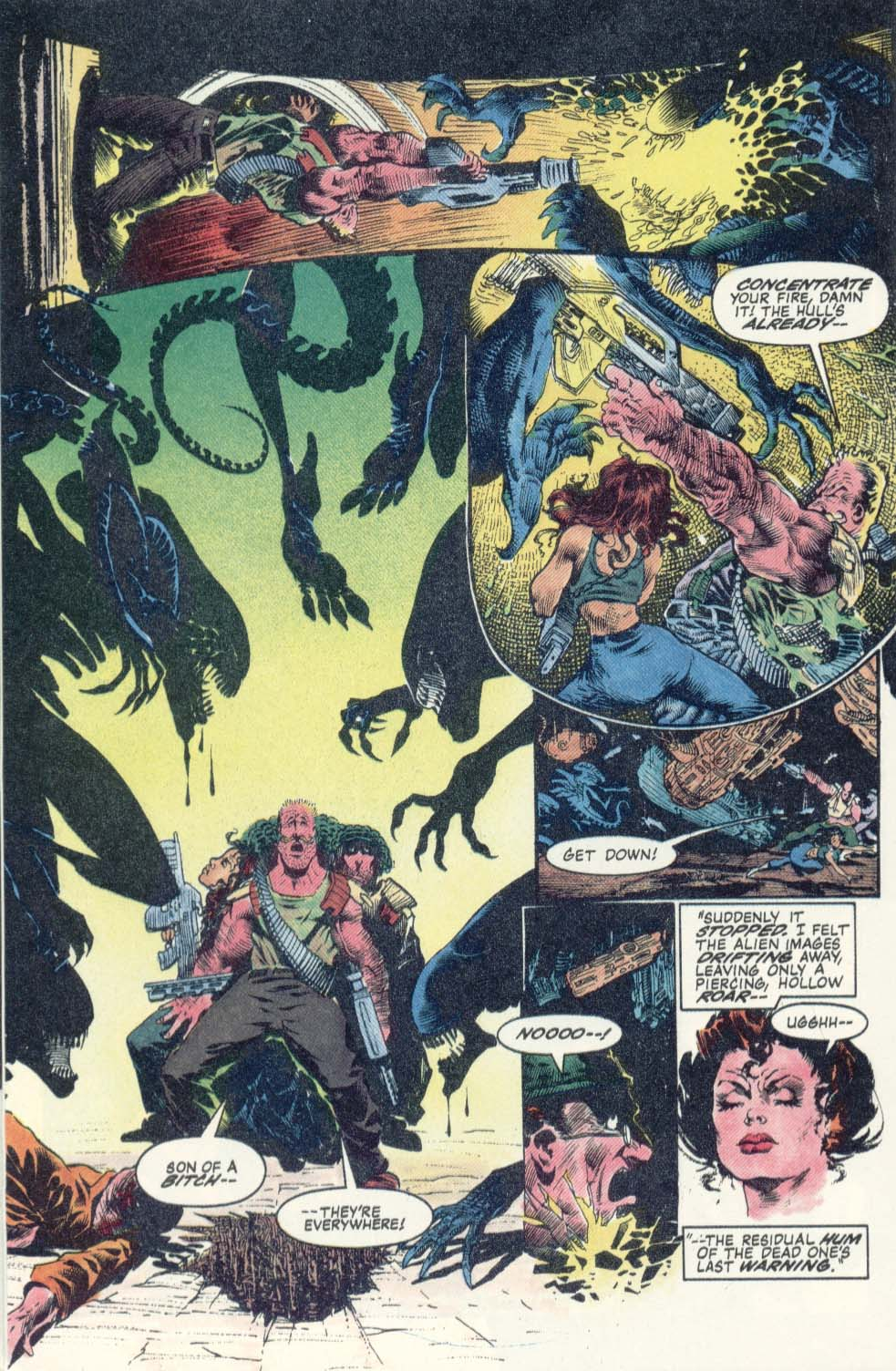 Read online Aliens: Earth War comic -  Issue #1 - 22