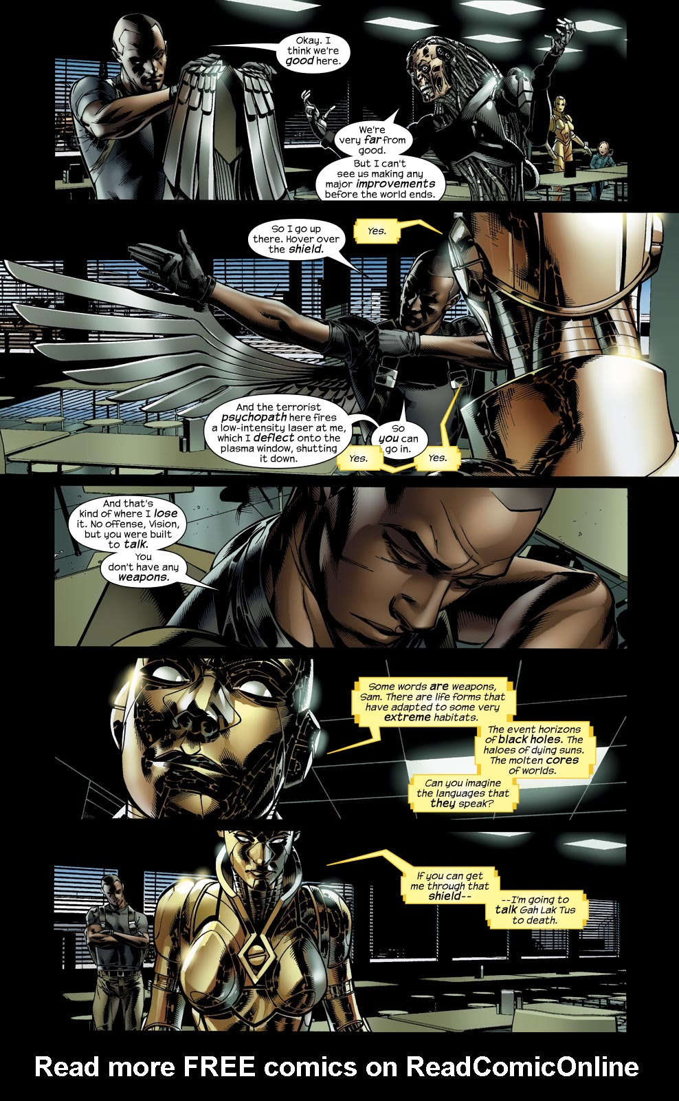 Read online Ultimate Vision comic -  Issue #5 - 11