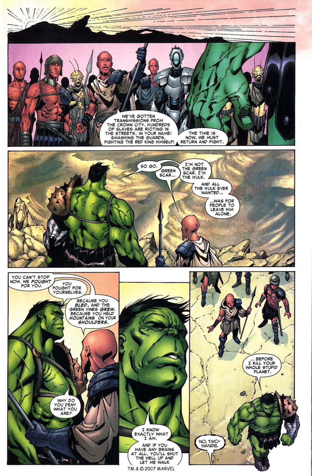 Read online The Incredible Hulk (2000) comic -  Issue #97 - 31