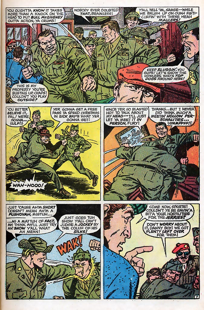 Read online Sgt. Fury comic -  Issue # _Special 4 - 9