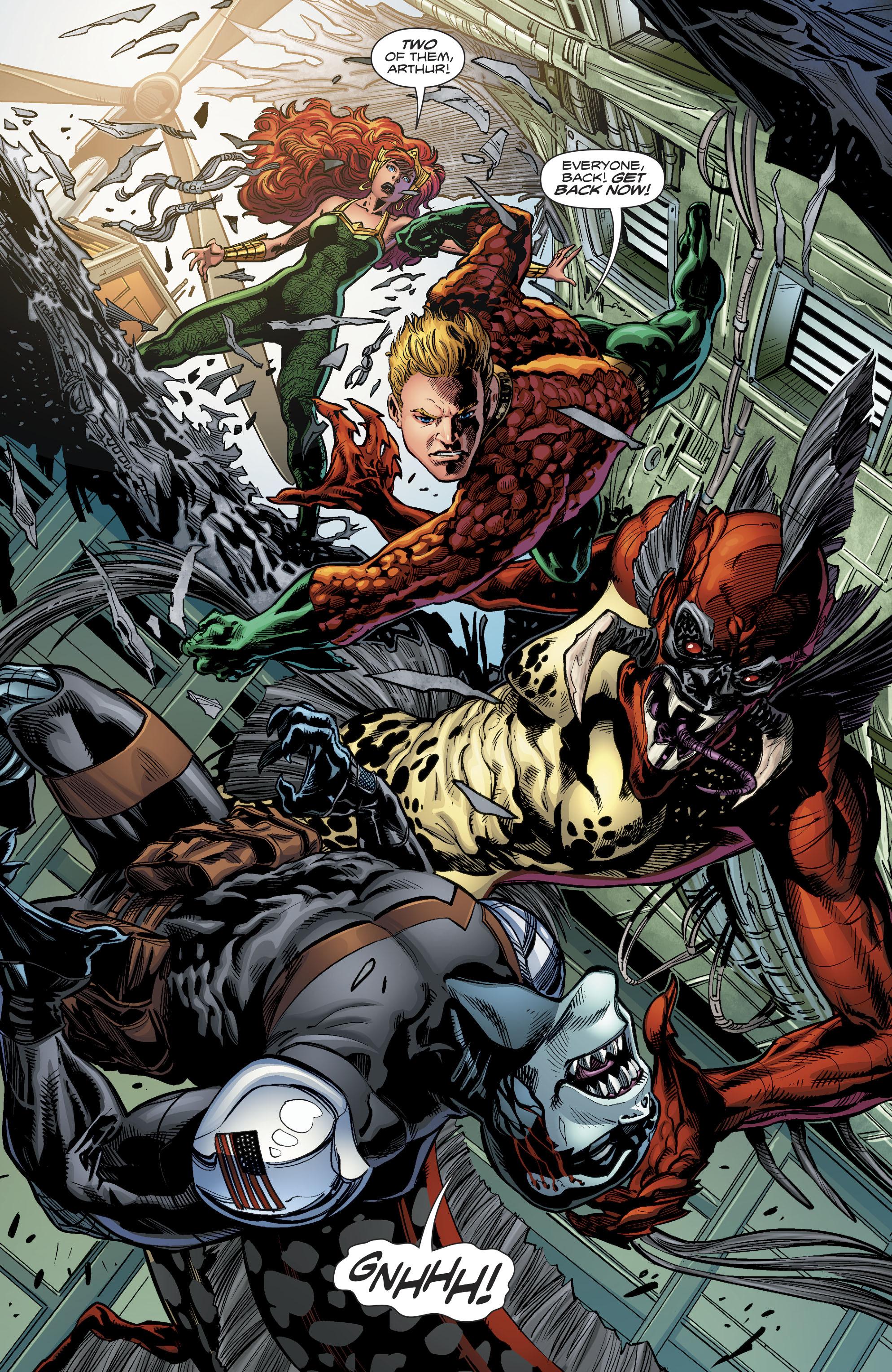 Read online Aquaman (2016) comic -  Issue #22 - 8