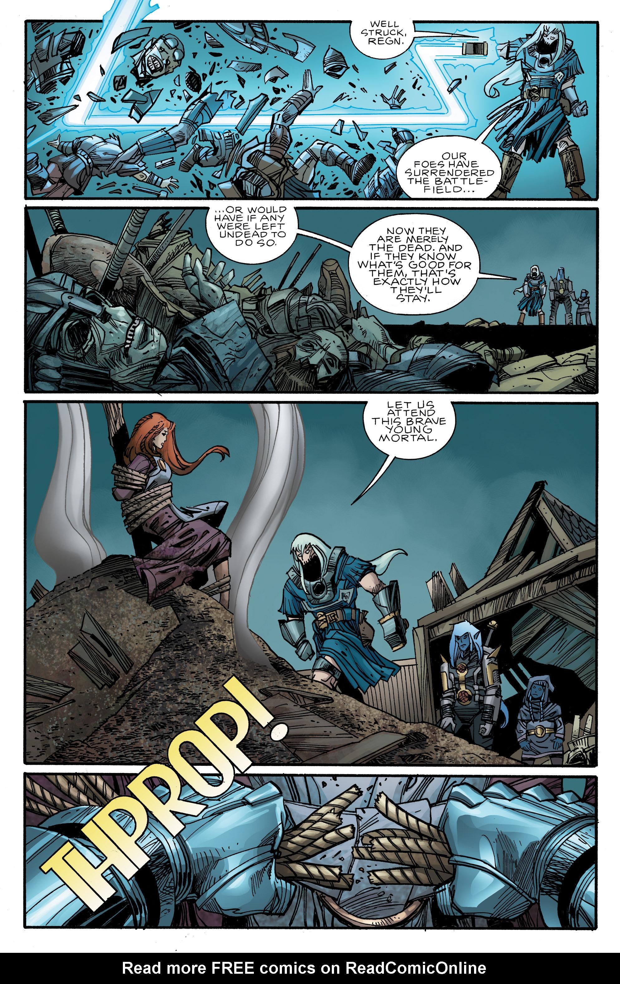Read online Ragnarok comic -  Issue #10 - 18
