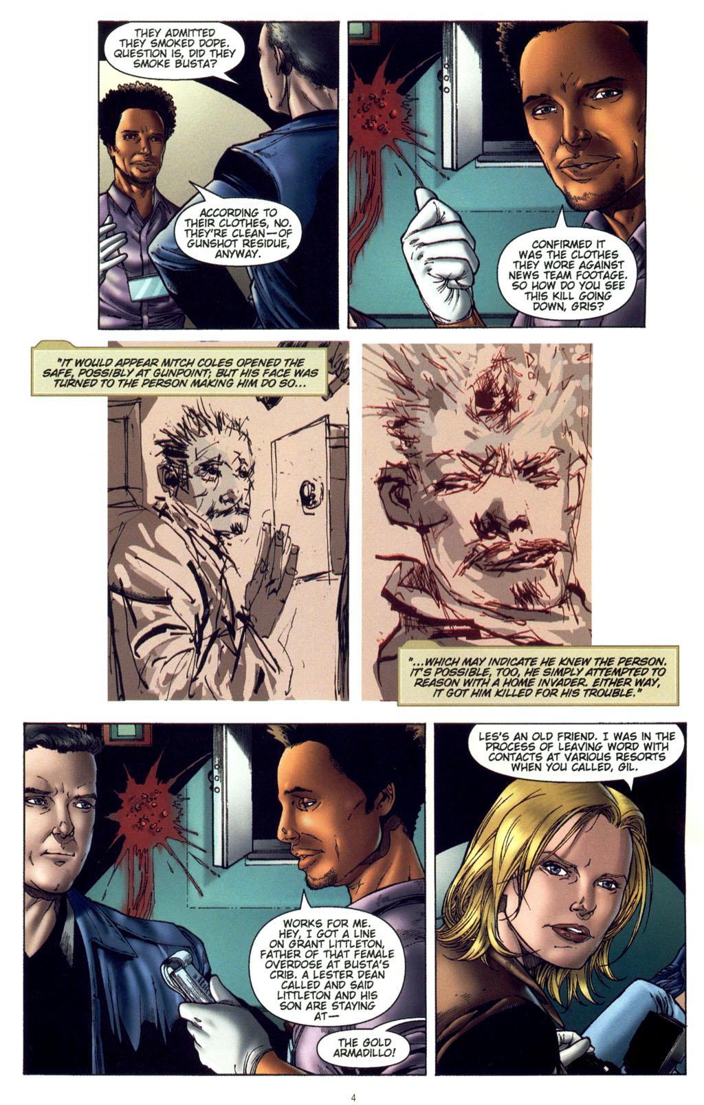 Read online CSI: Crime Scene Investigation: Bad Rap comic -  Issue #4 - 5