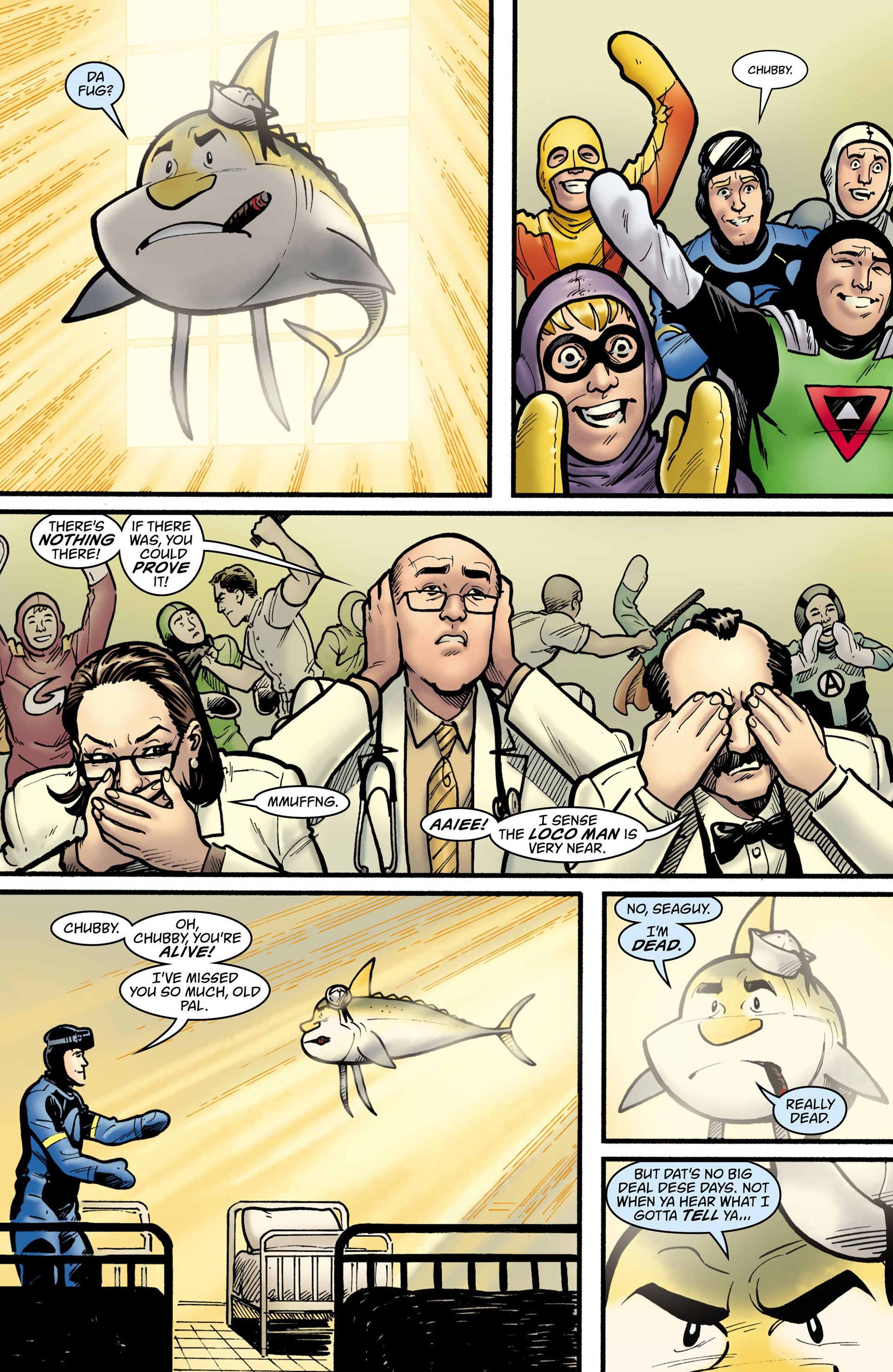 Read online Seaguy: The Slaves of Mickey Eye comic -  Issue #1 - 27