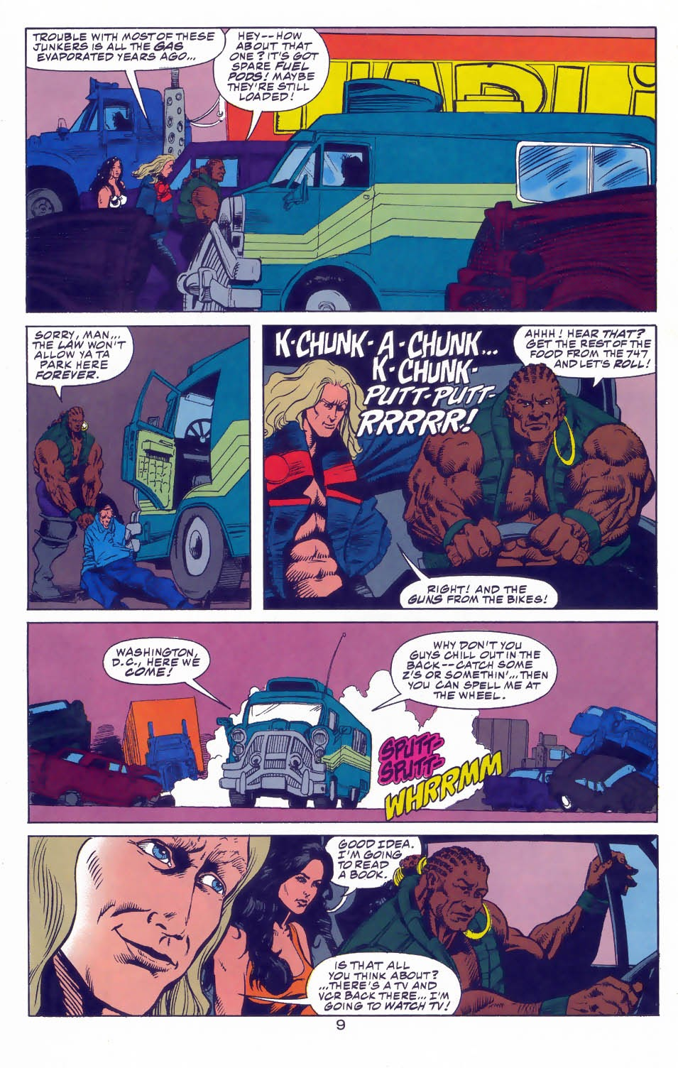 Read online Kamandi: At Earth's End comic -  Issue #3 - 11