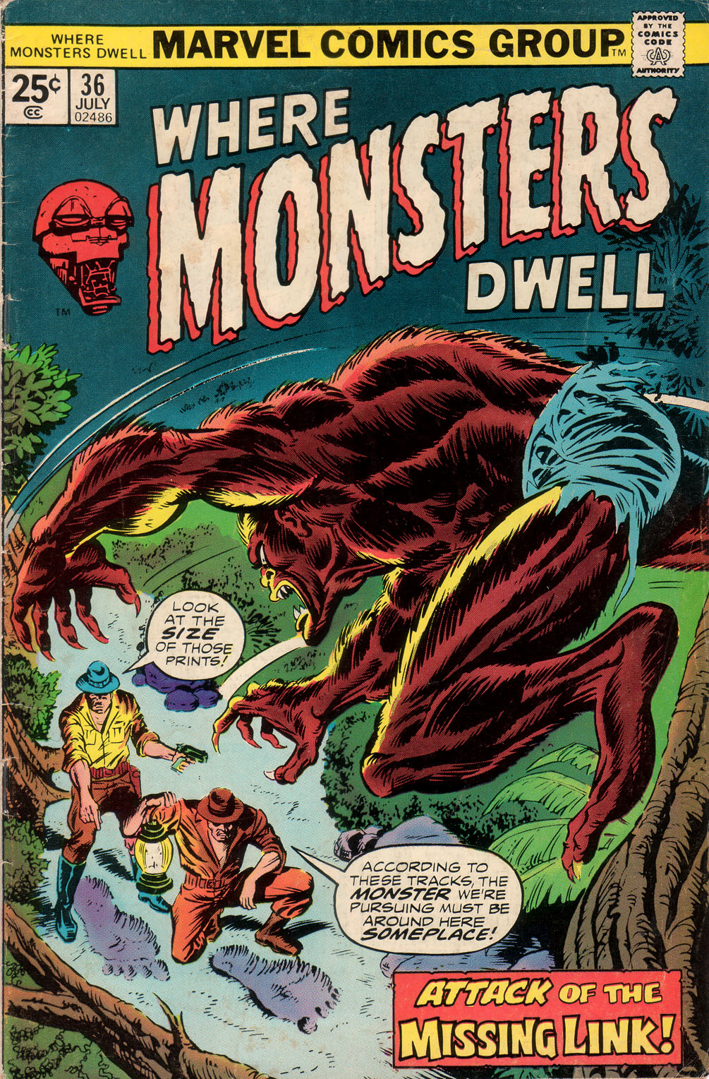 Where Monsters Dwell (1970) issue 36 - Page 1