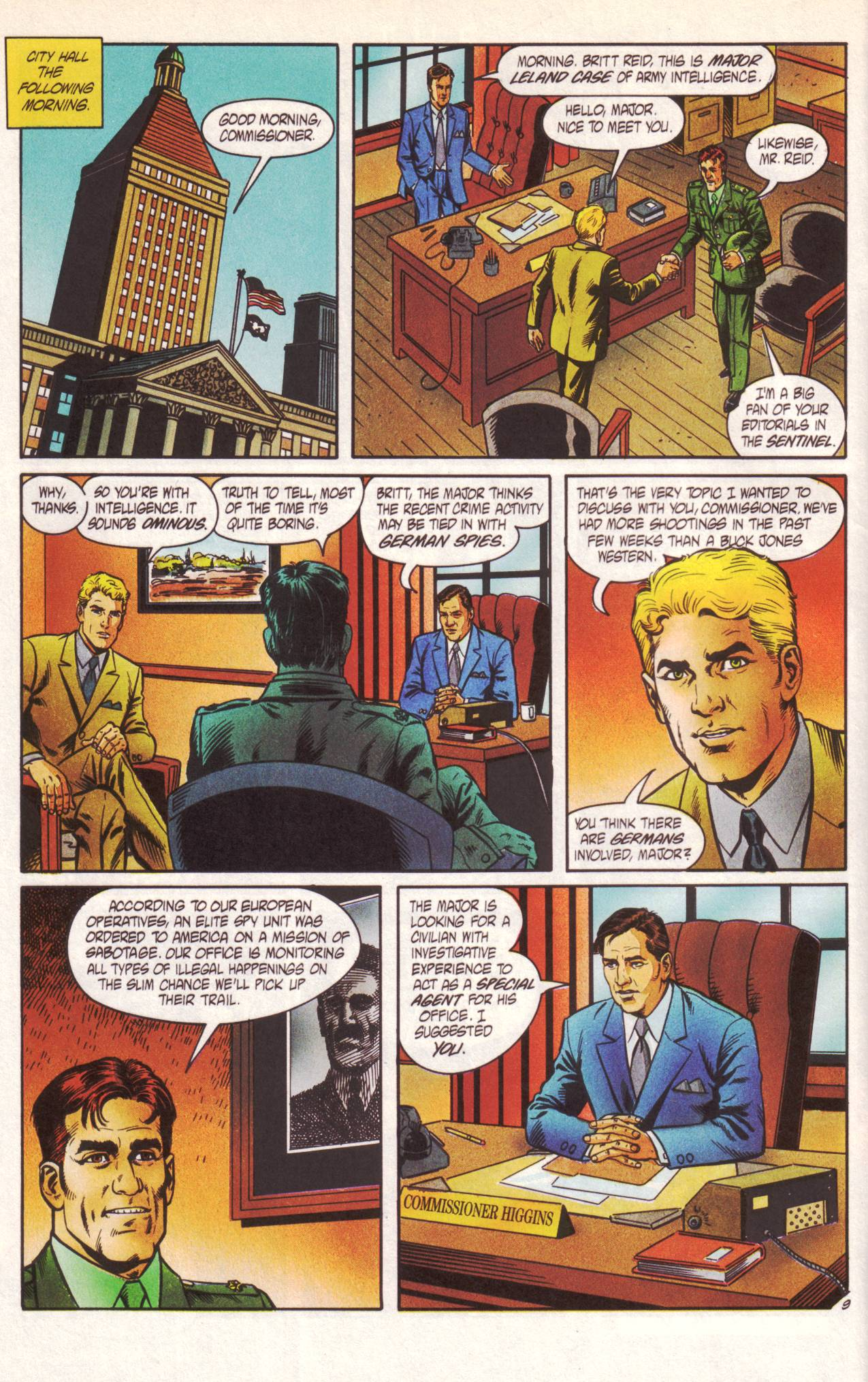 Read online Sting of The Green Hornet comic -  Issue #1 - 10