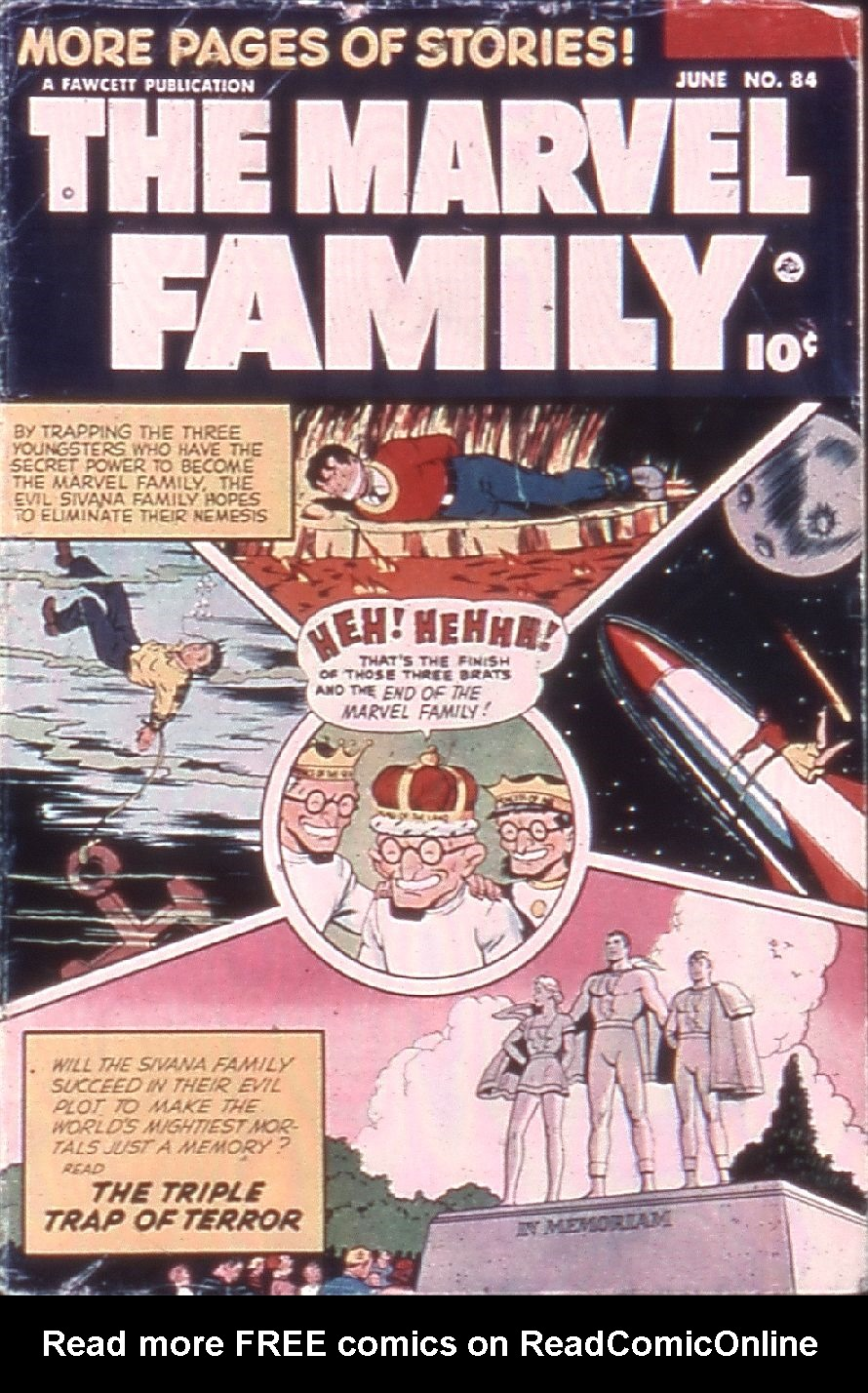 The Marvel Family 84 Page 1