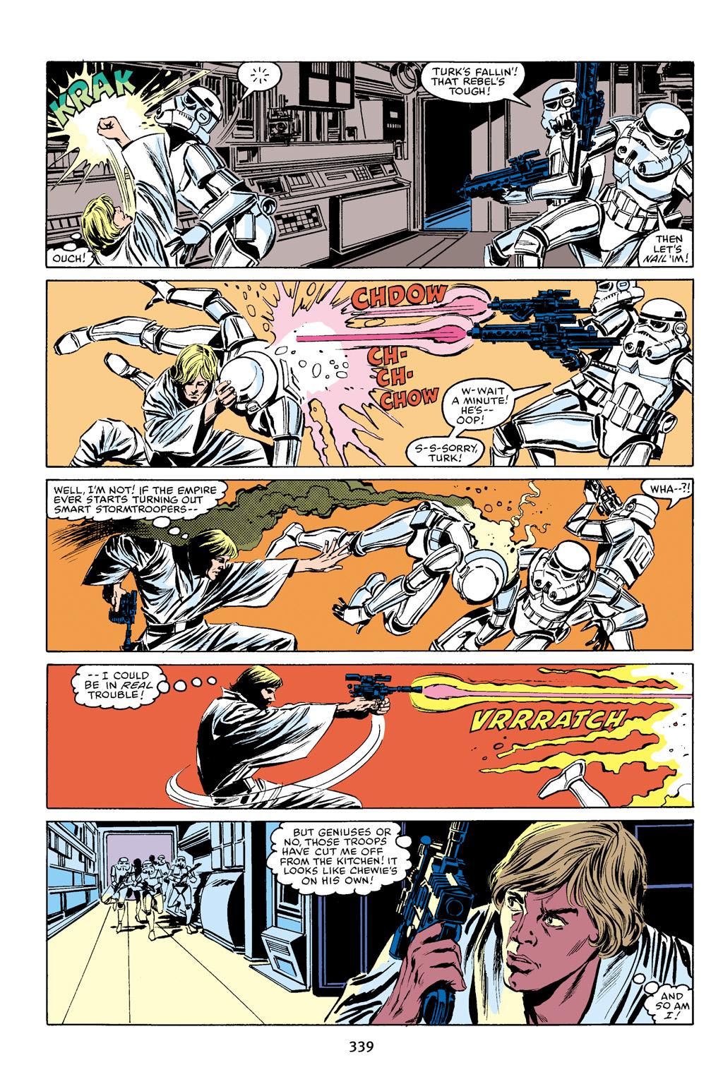 Read online Star Wars Omnibus comic -  Issue # Vol. 16 - 333