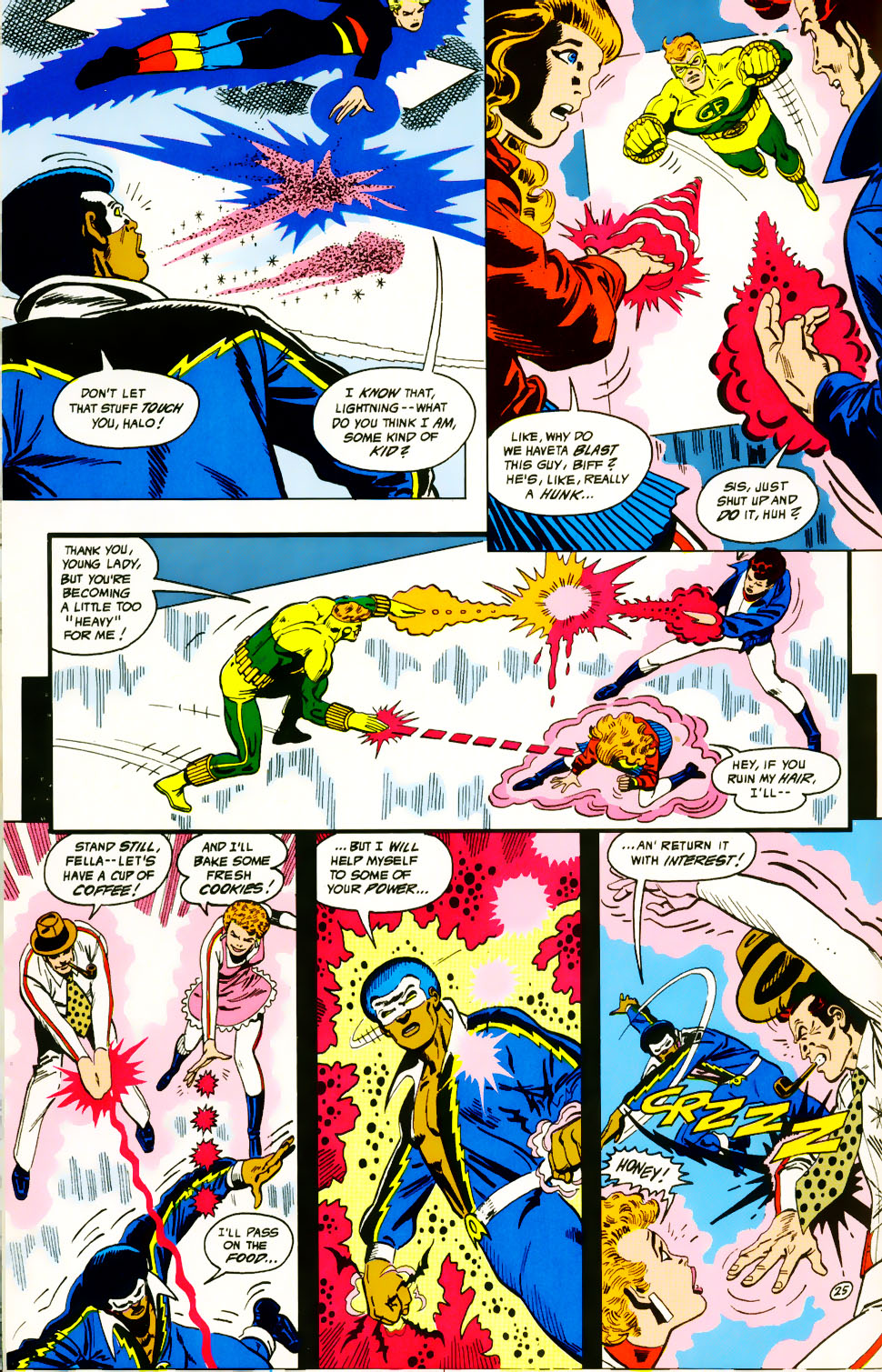 Read online Adventures of the Outsiders comic -  Issue #39 - 26
