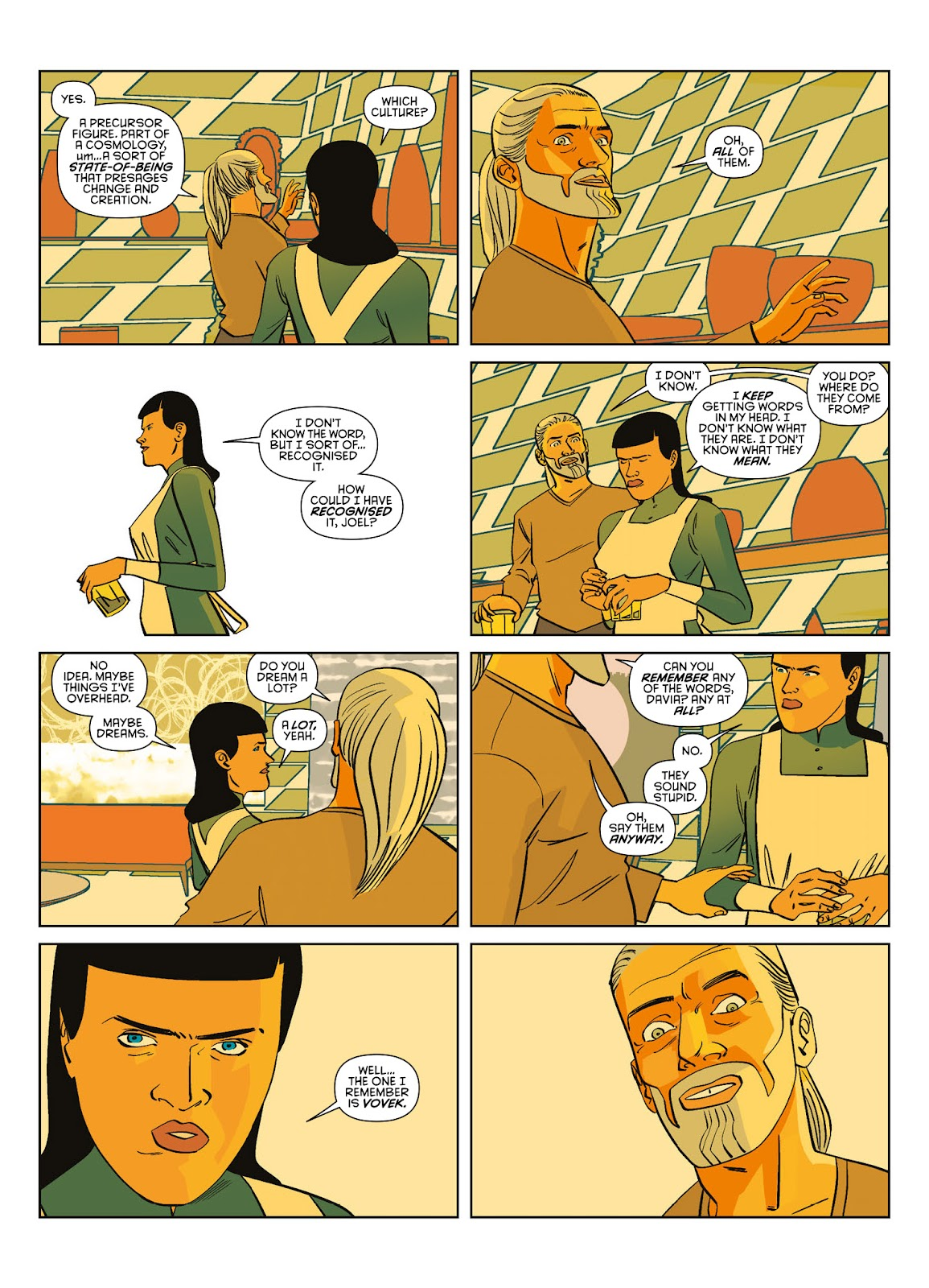 Read online Brink comic -  Issue # TPB 3 - 35