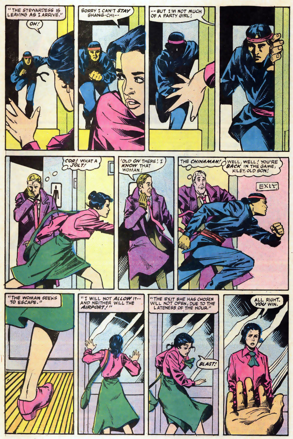 Read online Master of Kung Fu (1974) comic -  Issue #121 - 9