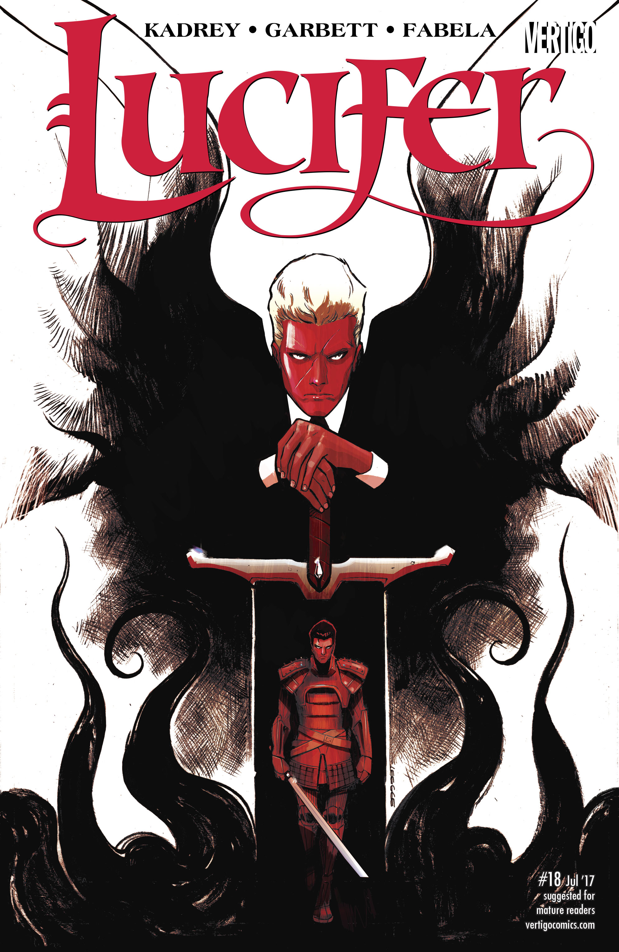 Read online Lucifer (2016) comic -  Issue #18 - 1