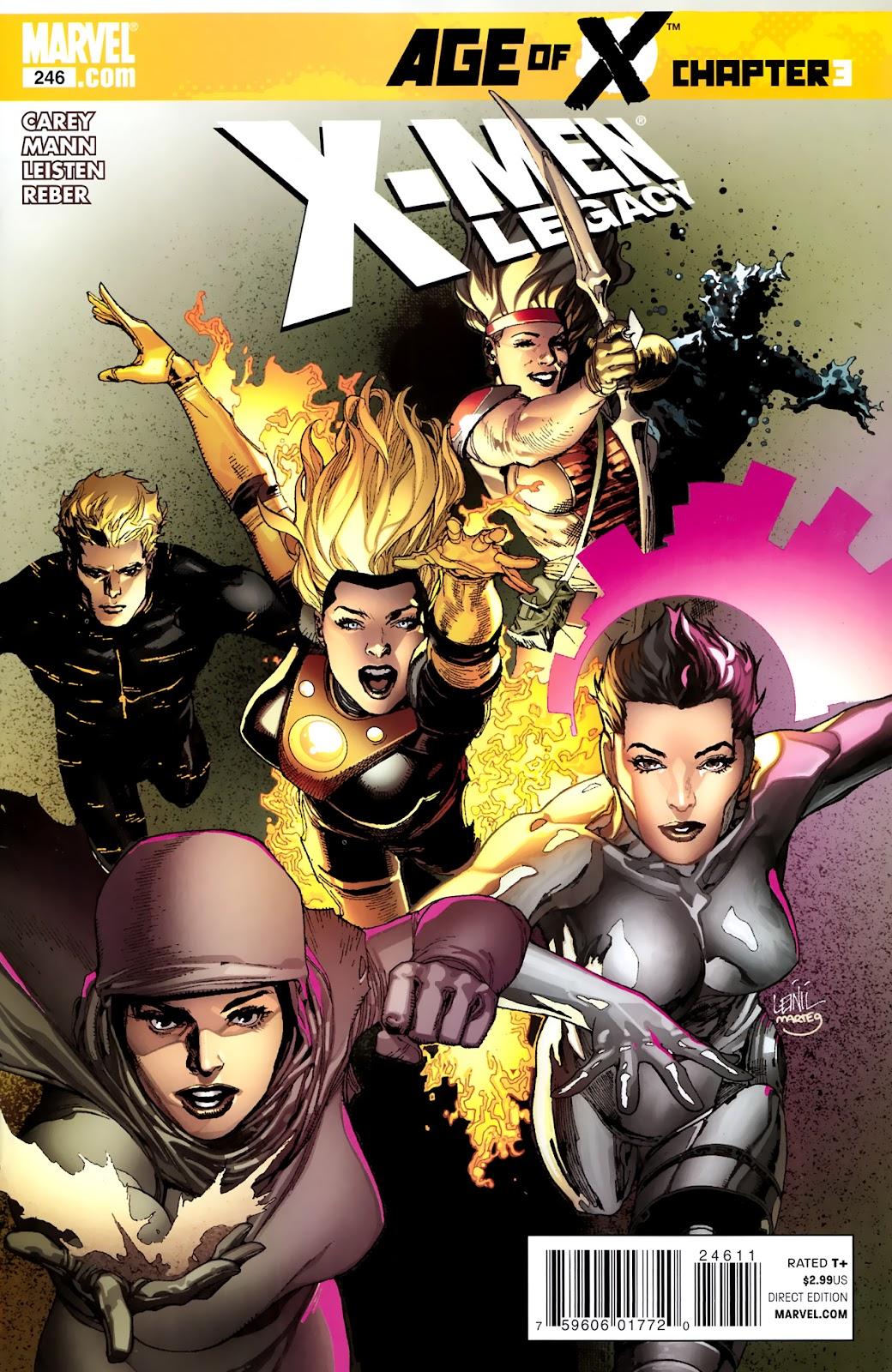 X-Men Legacy (2008) 246 Page 1