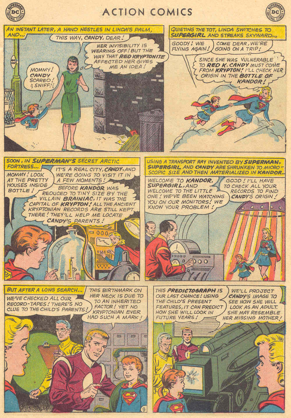 Read online Action Comics (1938) comic -  Issue #308 - 29