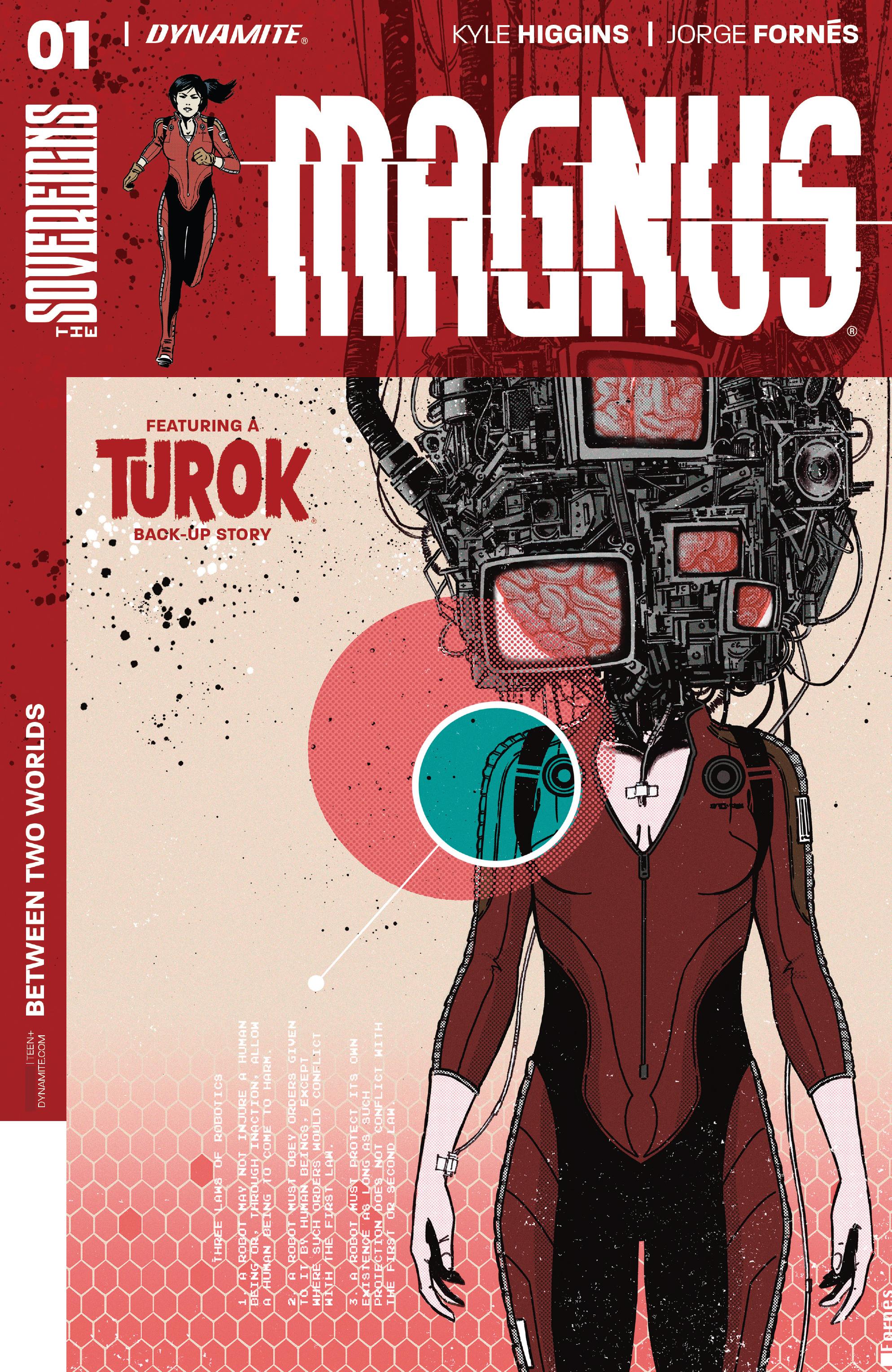 Read online Magnus comic -  Issue #1 - 2