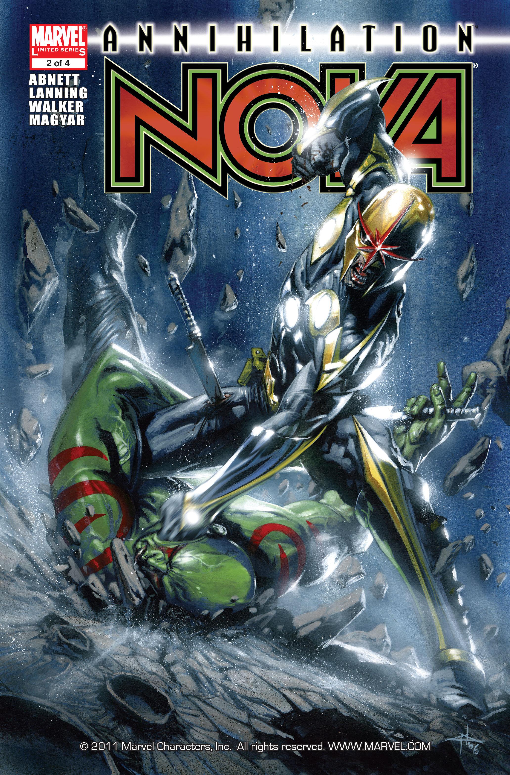 Read online Annihilation: Nova comic -  Issue #2 - 1