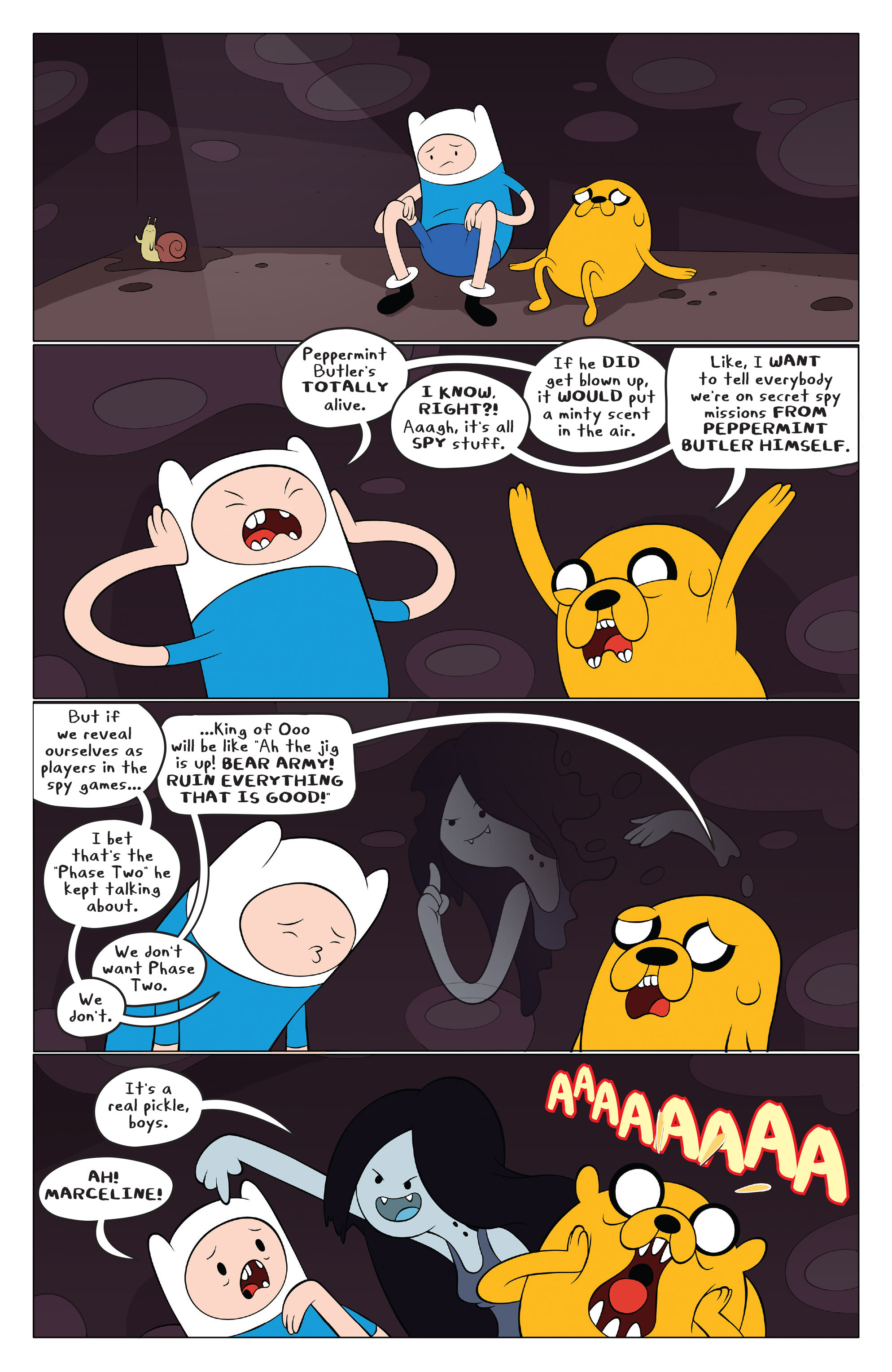 Read online Adventure Time comic -  Issue #43 - 5