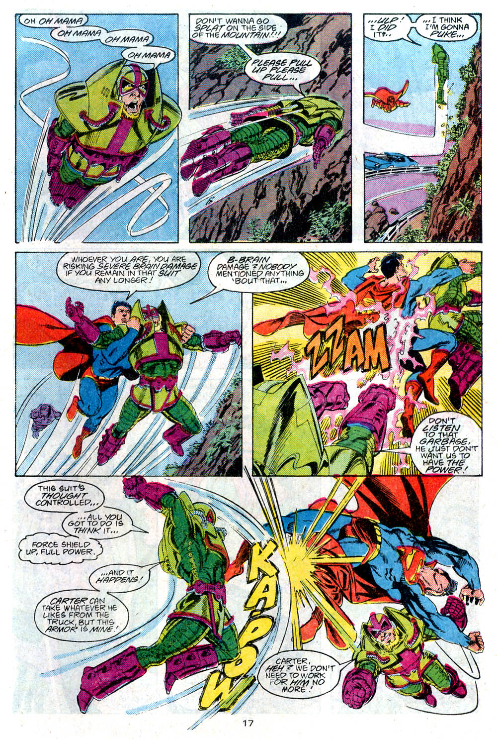 Read online Adventures of Superman (1987) comic -  Issue #446 - 18