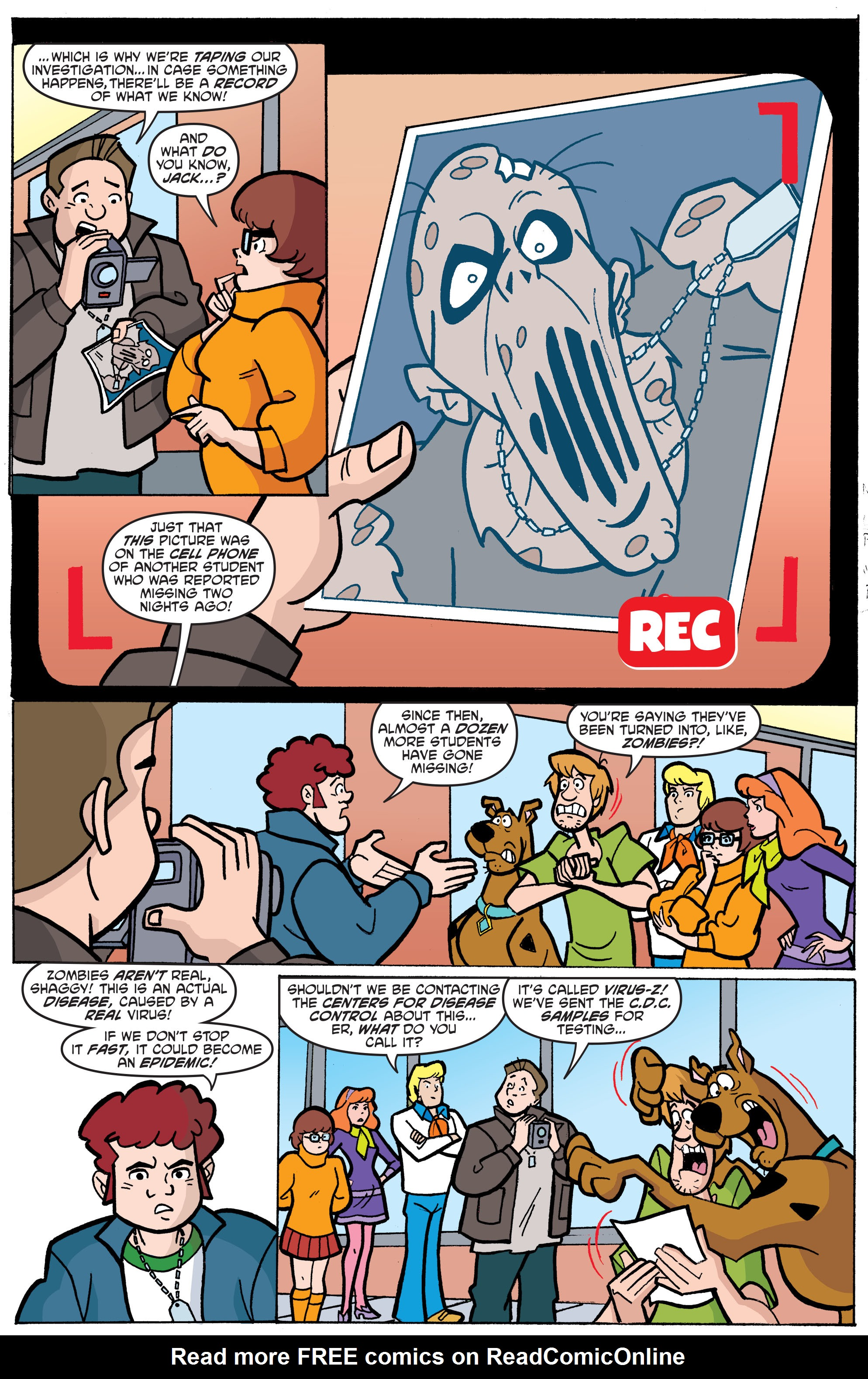 Read online Scooby-Doo: Where Are You? comic -  Issue #65 - 14
