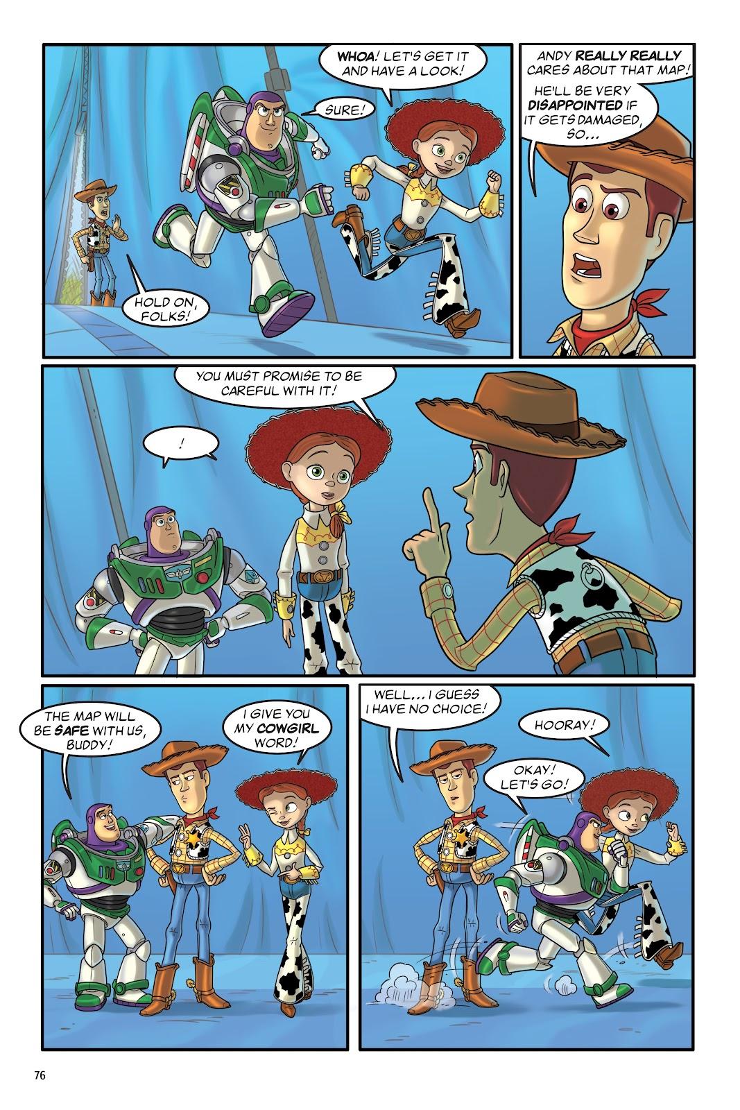 Read online DISNEY·PIXAR Toy Story Adventures comic -  Issue # TPB 1 (Part 1) - 76